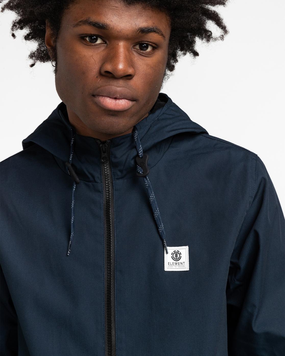 2 Wolfeboro Alder - Water-Resistant Jacket for Men Blue U1JKC3ELF0 Element