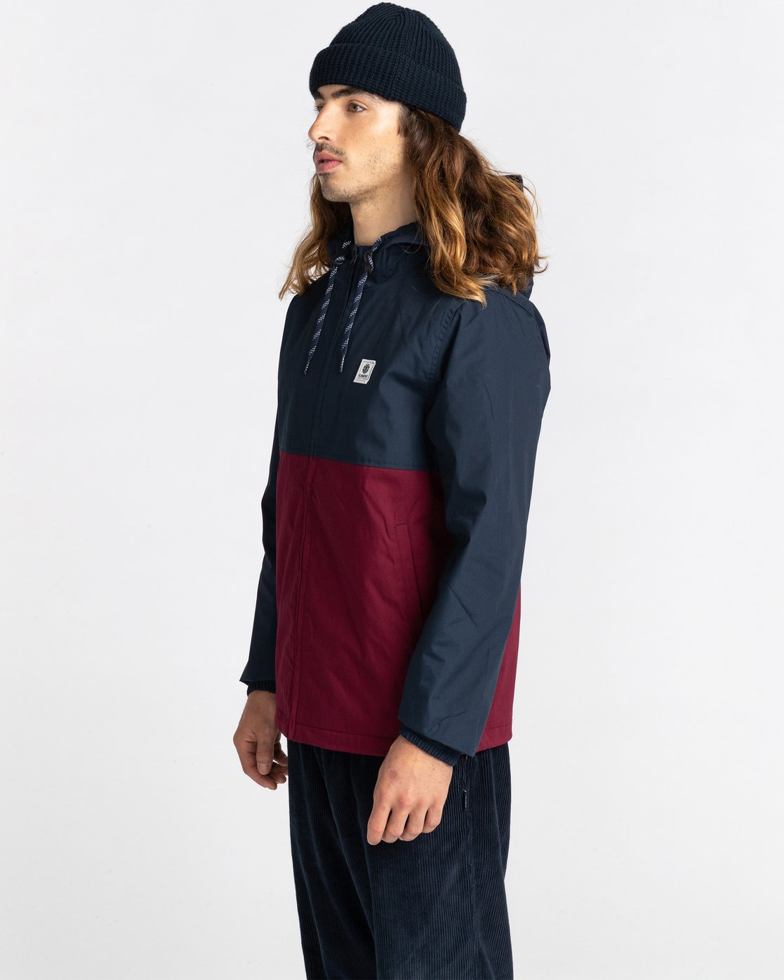 1 Wolfeboro Alder Two Tones - Water-Resistant Jacket for Men  U1JKC4ELF0 Element