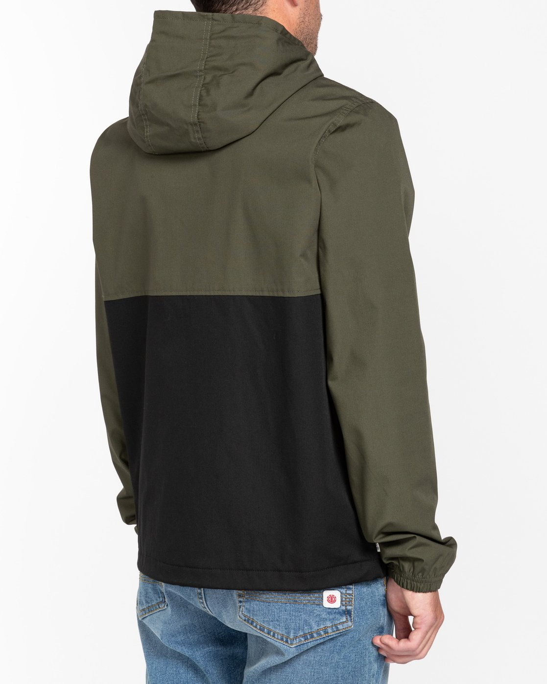 8 Wolfeboro Alder Two Tones - Water-Resistant Jacket for Men Black U1JKC4ELF0 Element