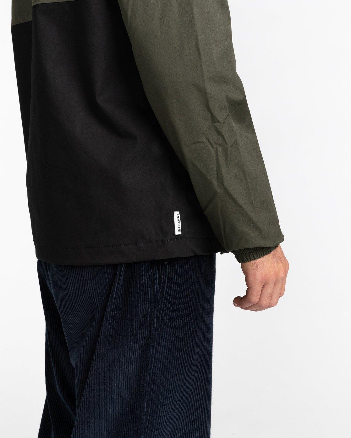 4 Wolfeboro Alder Two Tones - Water-Resistant Jacket for Men Black U1JKC4ELF0 Element