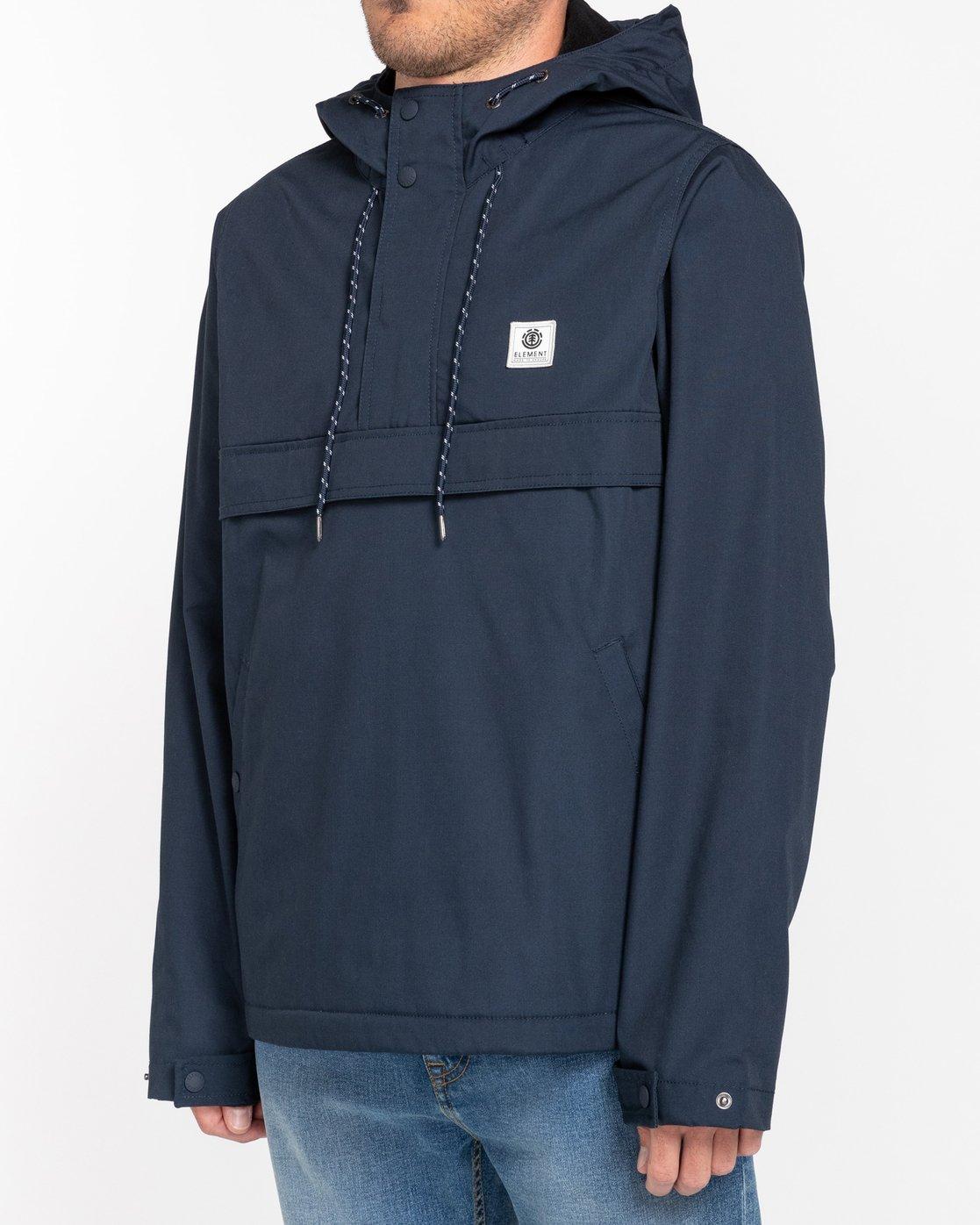 1 Wolfeboro Barrow - Water-Resistant Jacket for Men Blue U1JKC5ELF0 Element