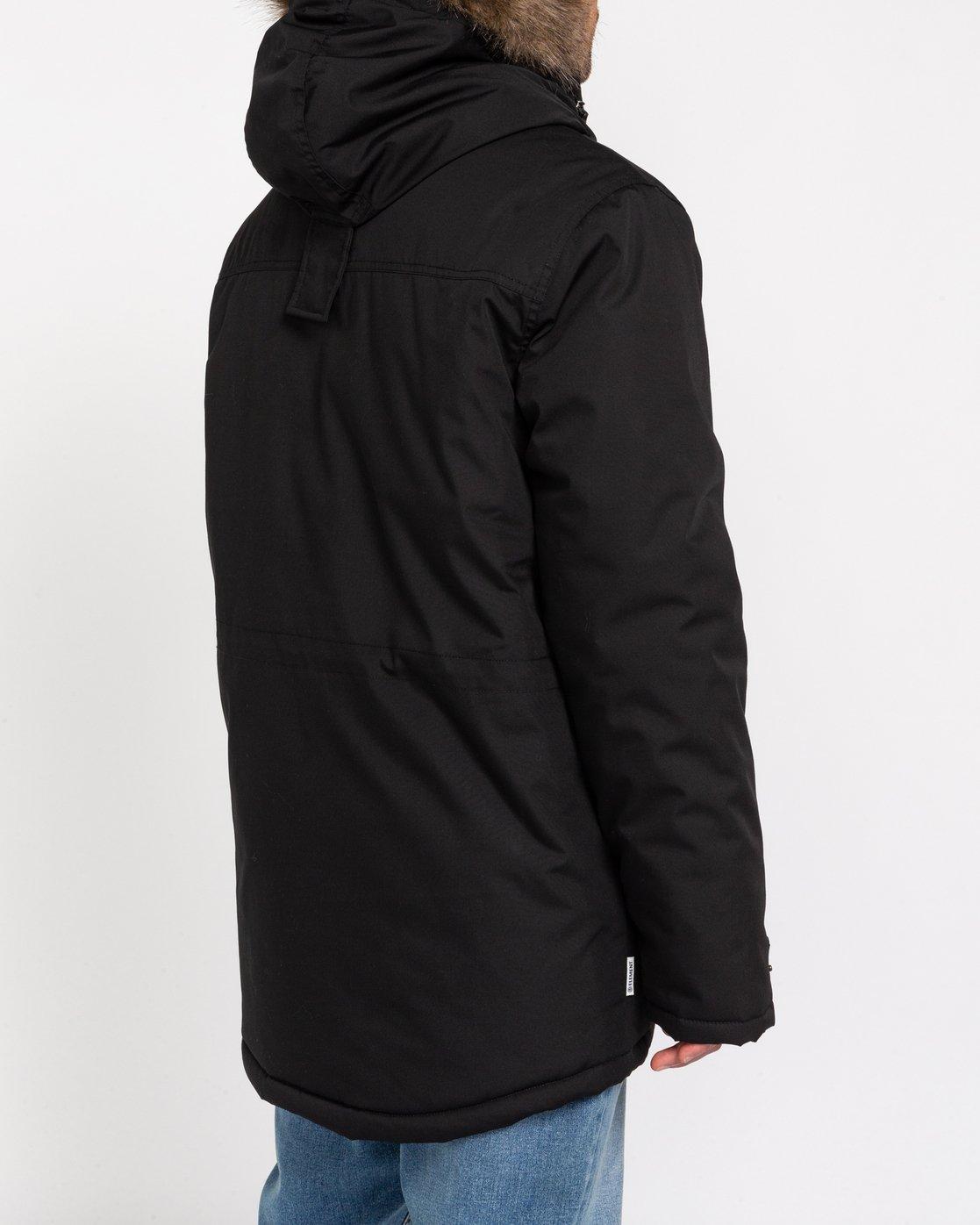 6 Wolfeboro Fargo - Water-Resistant Jacket for Men Black U1JKC9ELF0 Element