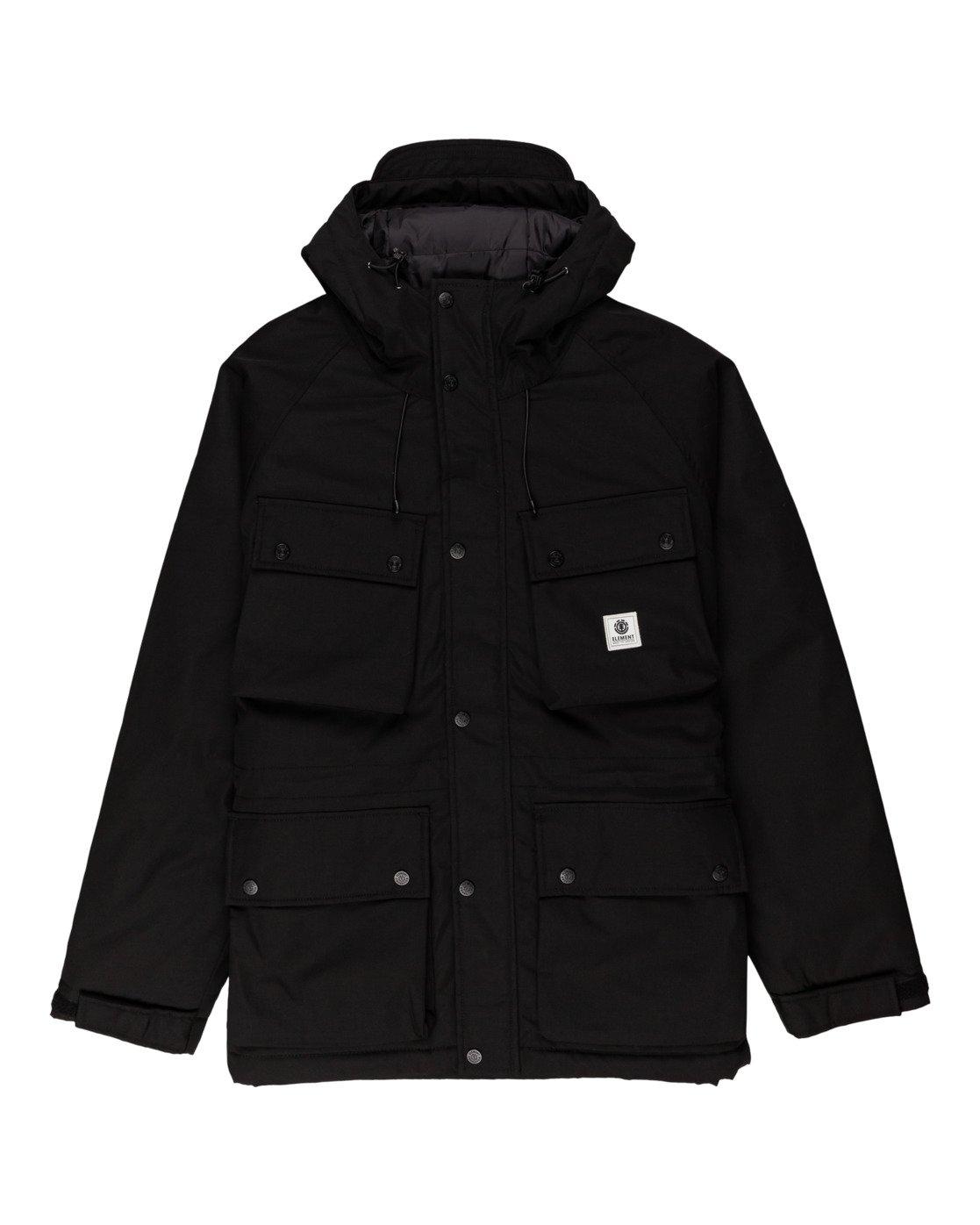 6 Wolfeboro Mountain - Water-Resistant Jacket for Men Black U1JKD4ELF0 Element