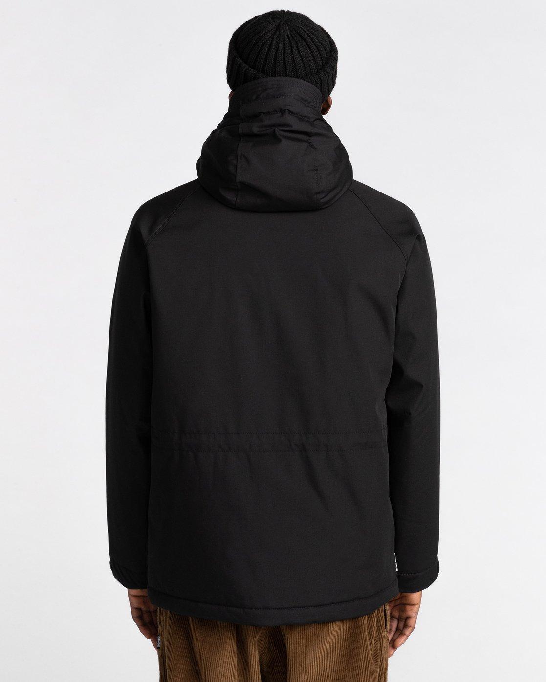 4 Wolfeboro Mountain - Water-Resistant Jacket for Men Black U1JKD4ELF0 Element