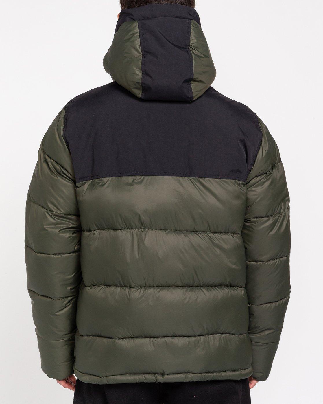 4 Wolfeboro Dulcey - Water-Resistant Jacket for Men Green U1JKD6ELF0 Element