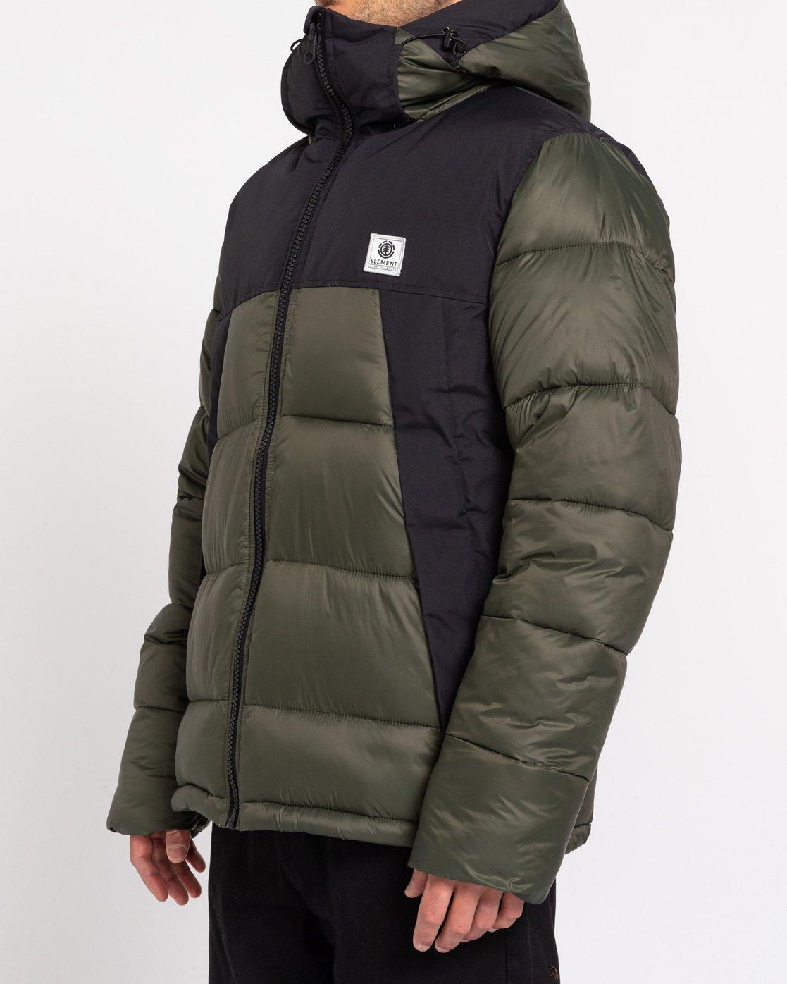2 Wolfeboro Dulcey - Water-Resistant Jacket for Men Green U1JKD6ELF0 Element
