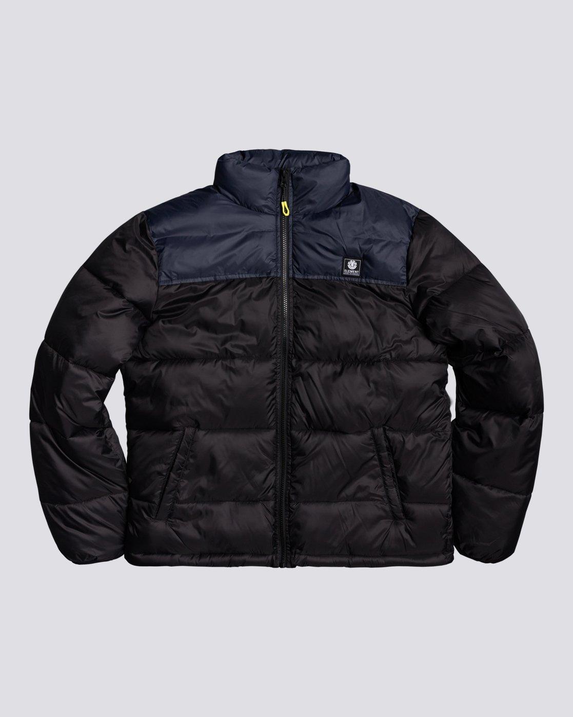 4 Future Nature Alder Arctic - Water-Resistant Jacket for Men Black U1JKE8ELF0 Element