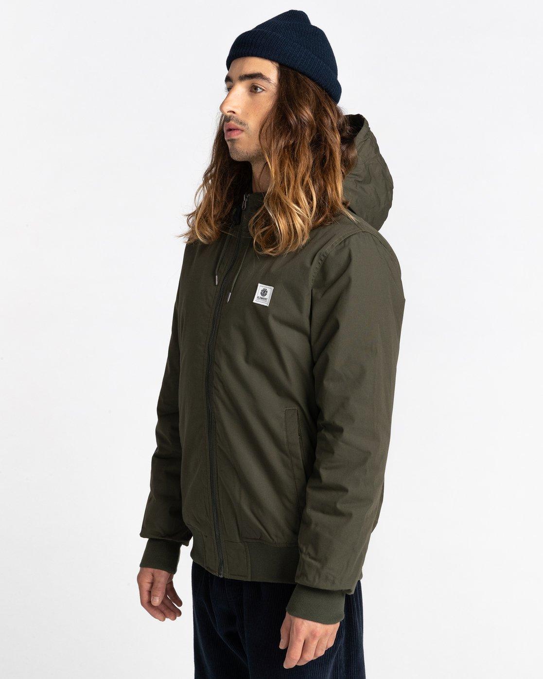 1 Wolfeboro Dulcey - Water-Resistant Jacket for Men Green U1JKF2ELF0 Element