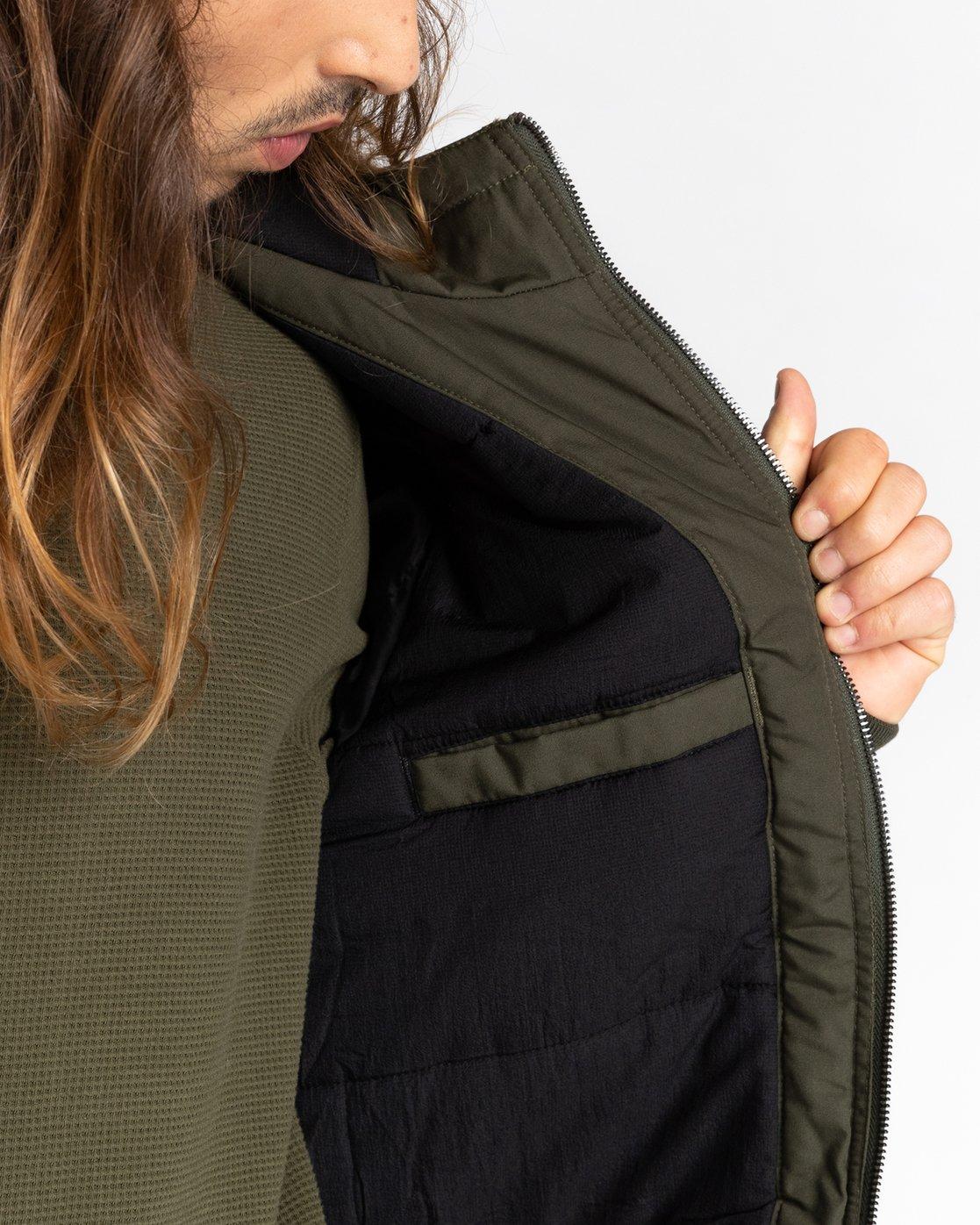 5 Wolfeboro Dulcey - Water-Resistant Jacket for Men Green U1JKF2ELF0 Element
