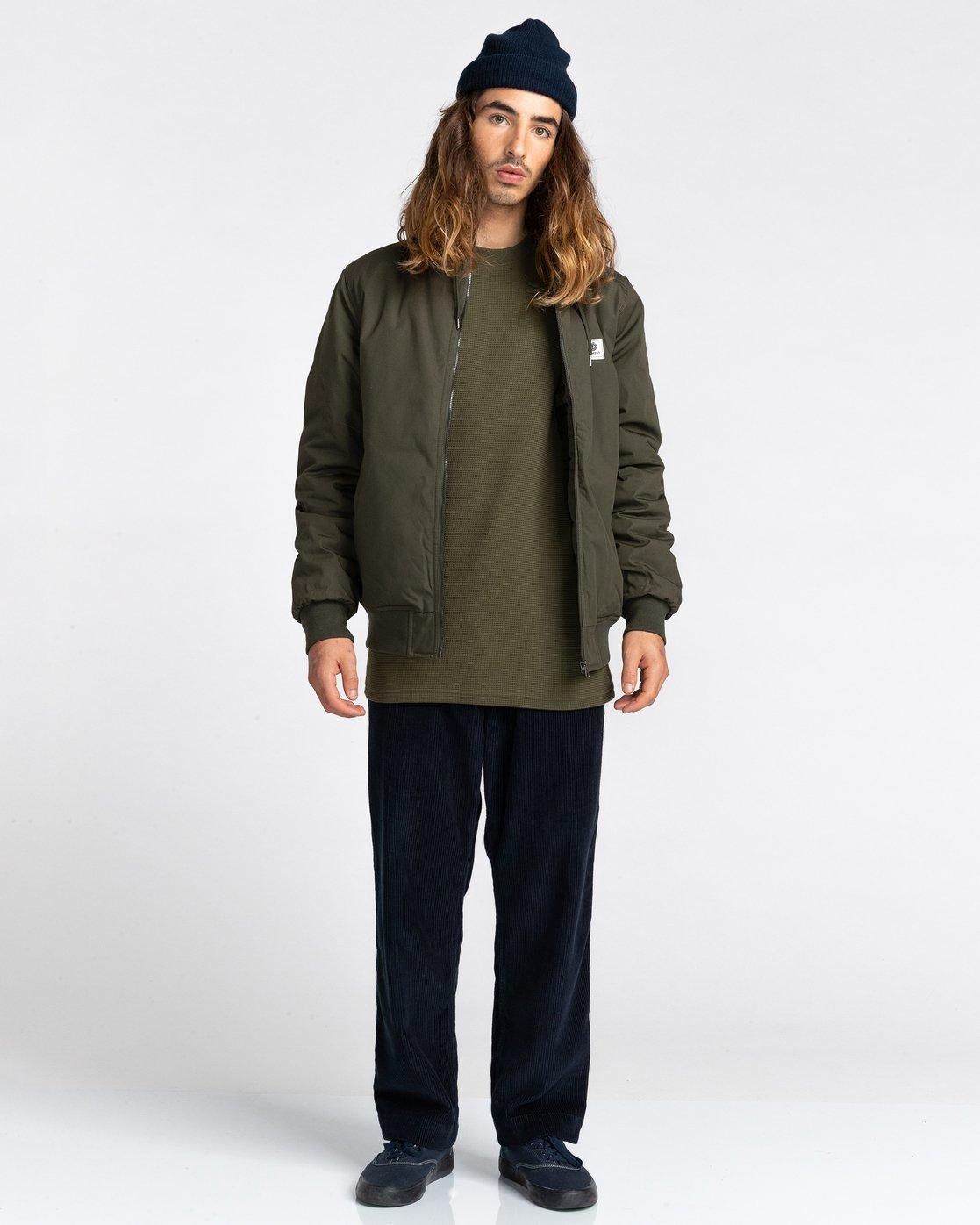 6 Wolfeboro Dulcey - Water-Resistant Jacket for Men Green U1JKF2ELF0 Element
