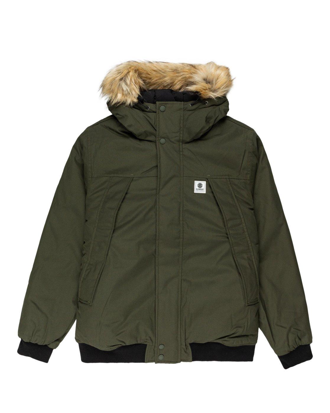 6 Wolfeboro Dulcey Explorer - Water-Resistant Jacket for Men Green U1JKF5ELF0 Element