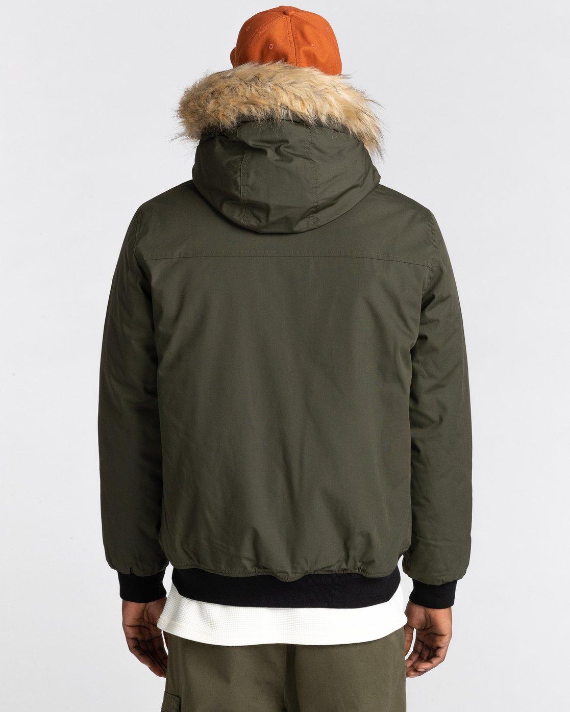 4 Wolfeboro Dulcey Explorer - Water-Resistant Jacket for Men Green U1JKF5ELF0 Element