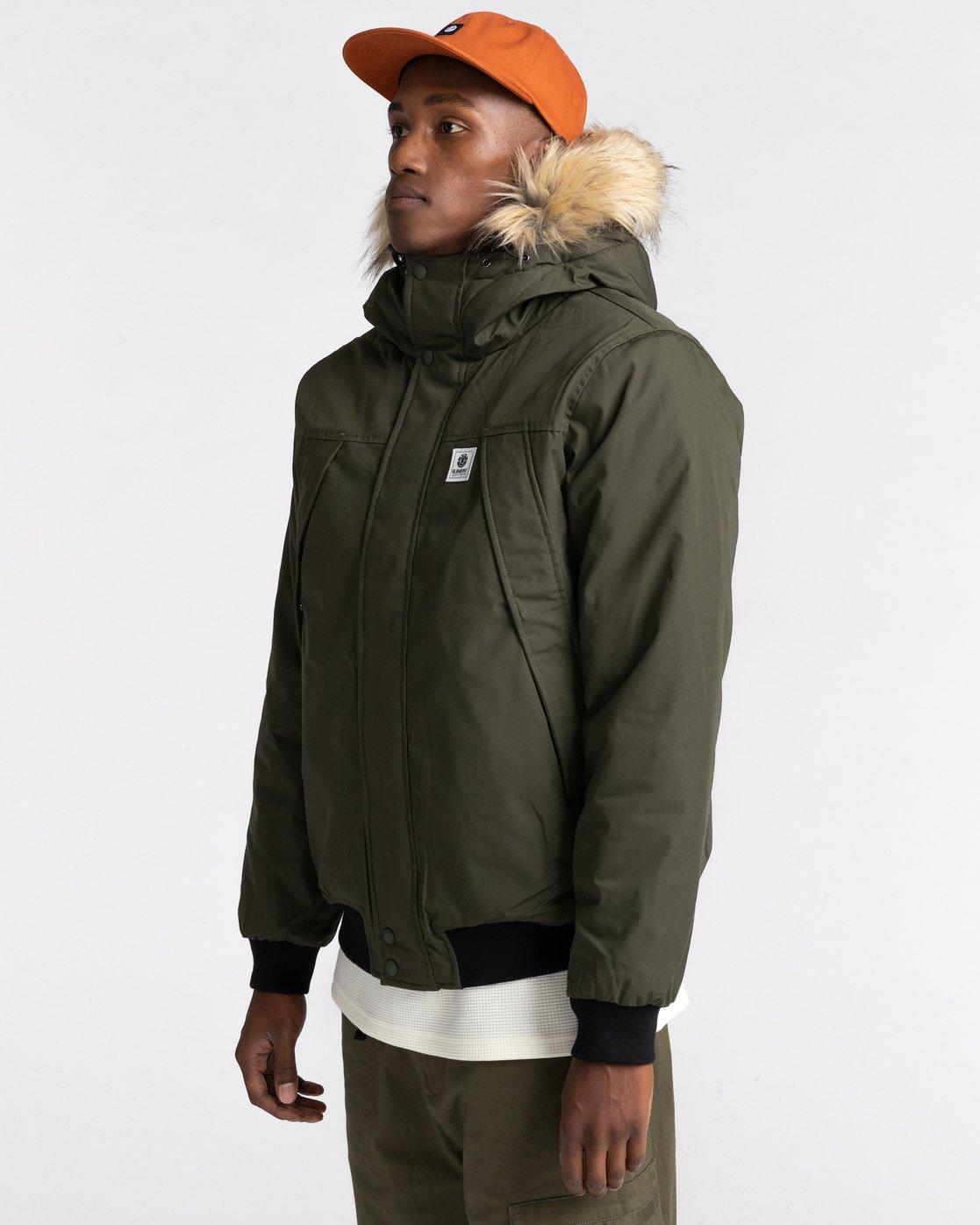 1 Wolfeboro Dulcey Explorer - Water-Resistant Jacket for Men Green U1JKF5ELF0 Element