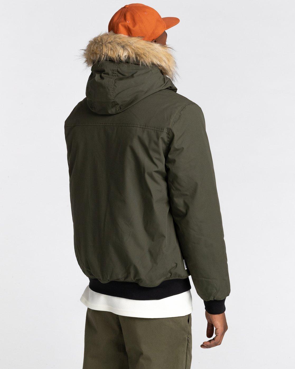 2 Wolfeboro Dulcey Explorer - Water-Resistant Jacket for Men Green U1JKF5ELF0 Element