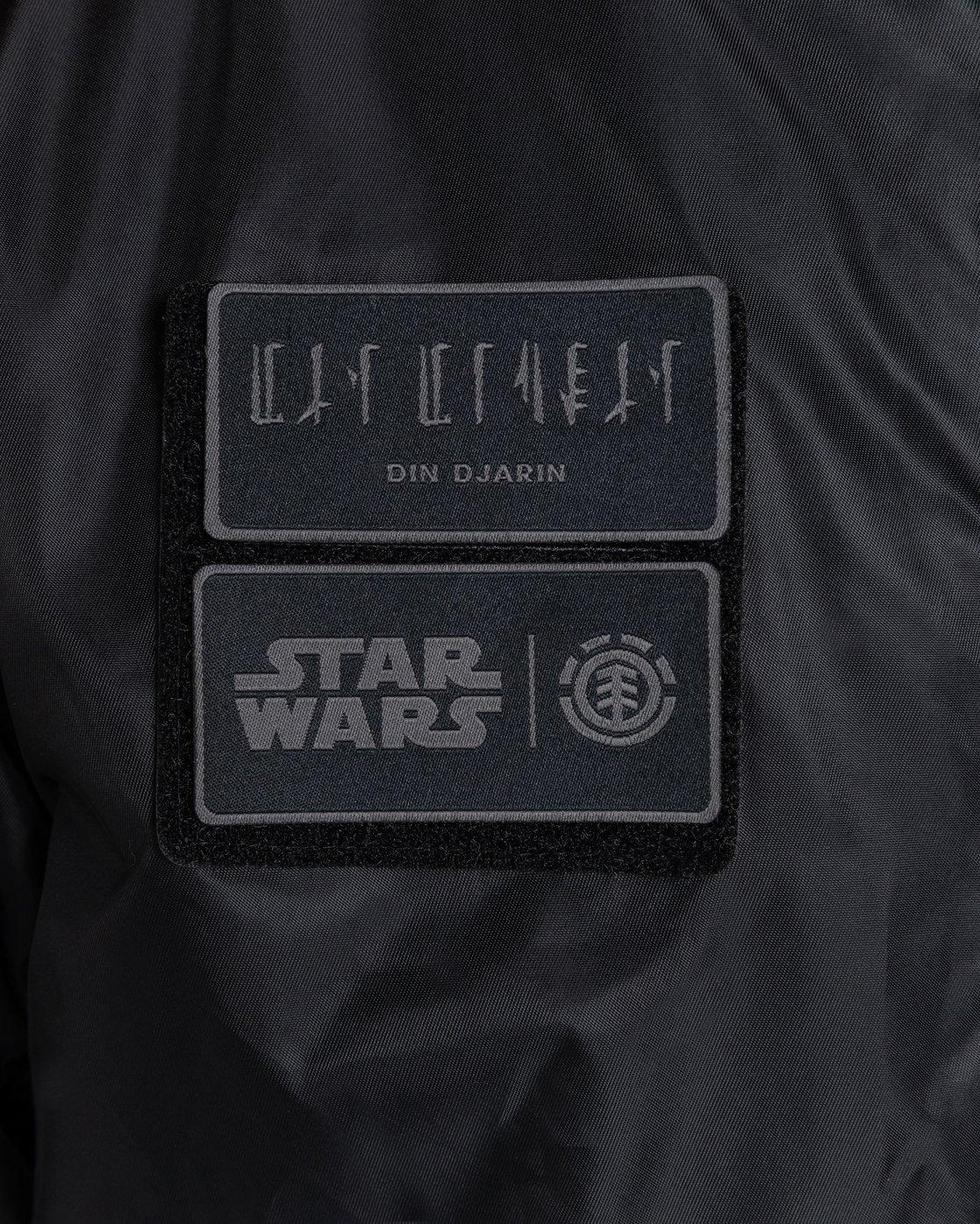 5 Star Wars X Element - Chaqueta de Aviador para Hombre Negro U1JKG5ELF0 Element