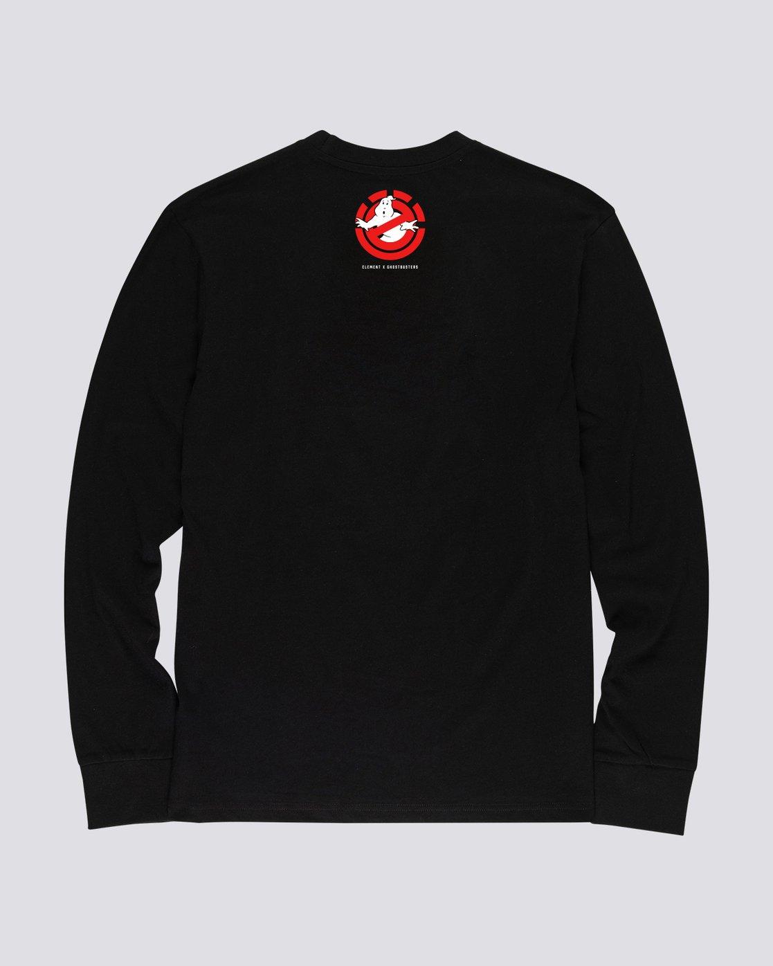 1 Ghostbusters Inferno - T-shirt manches longues pour Homme Noir U1LSE2ELF0 Element