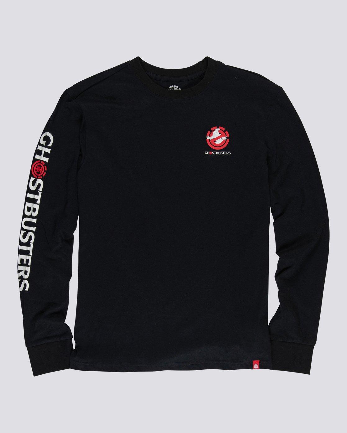 1 Ghostbusters Banshee - T-shirt manches longues pour Homme Noir U1LSE5ELF0 Element