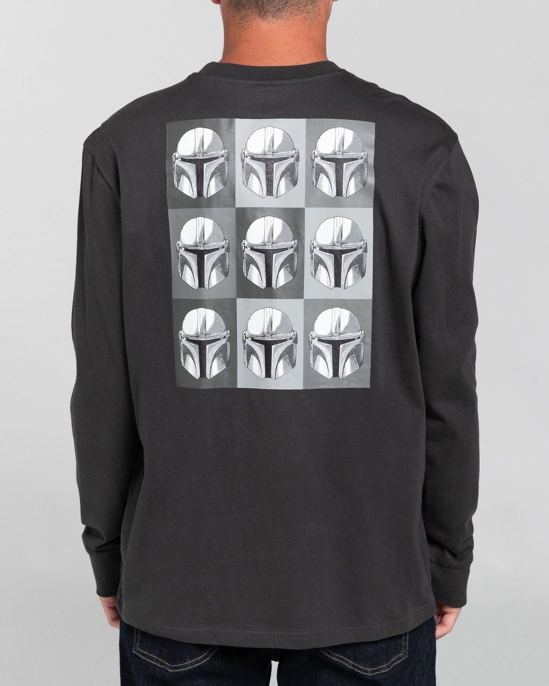 5 Star Wars X Element Helmet - Camiseta de Manga Larga para Hombre  U1LSF1ELF0 Element