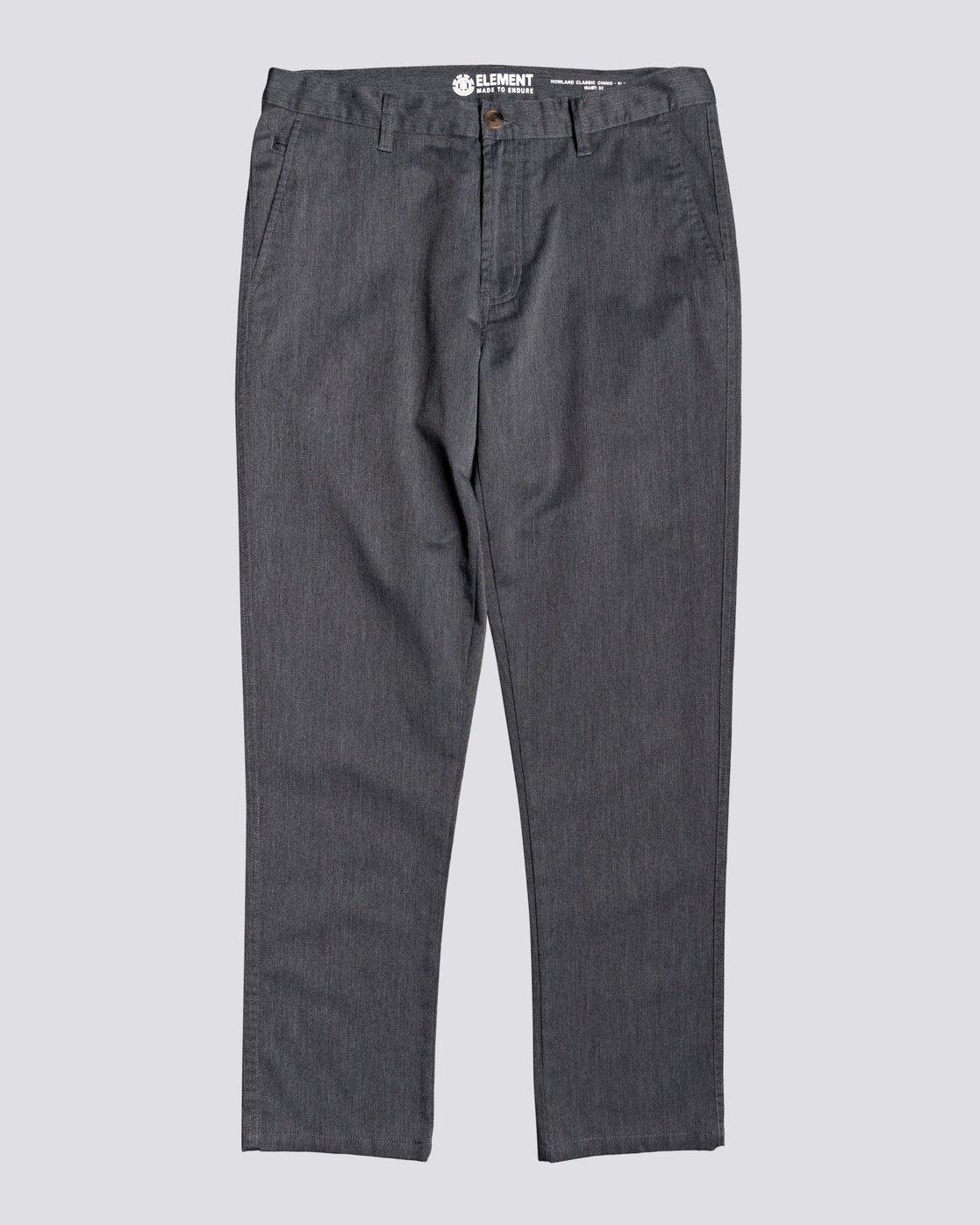 3 Howland Classic - Pantalon chino pour Homme Gris U1PTC1ELF0 Element