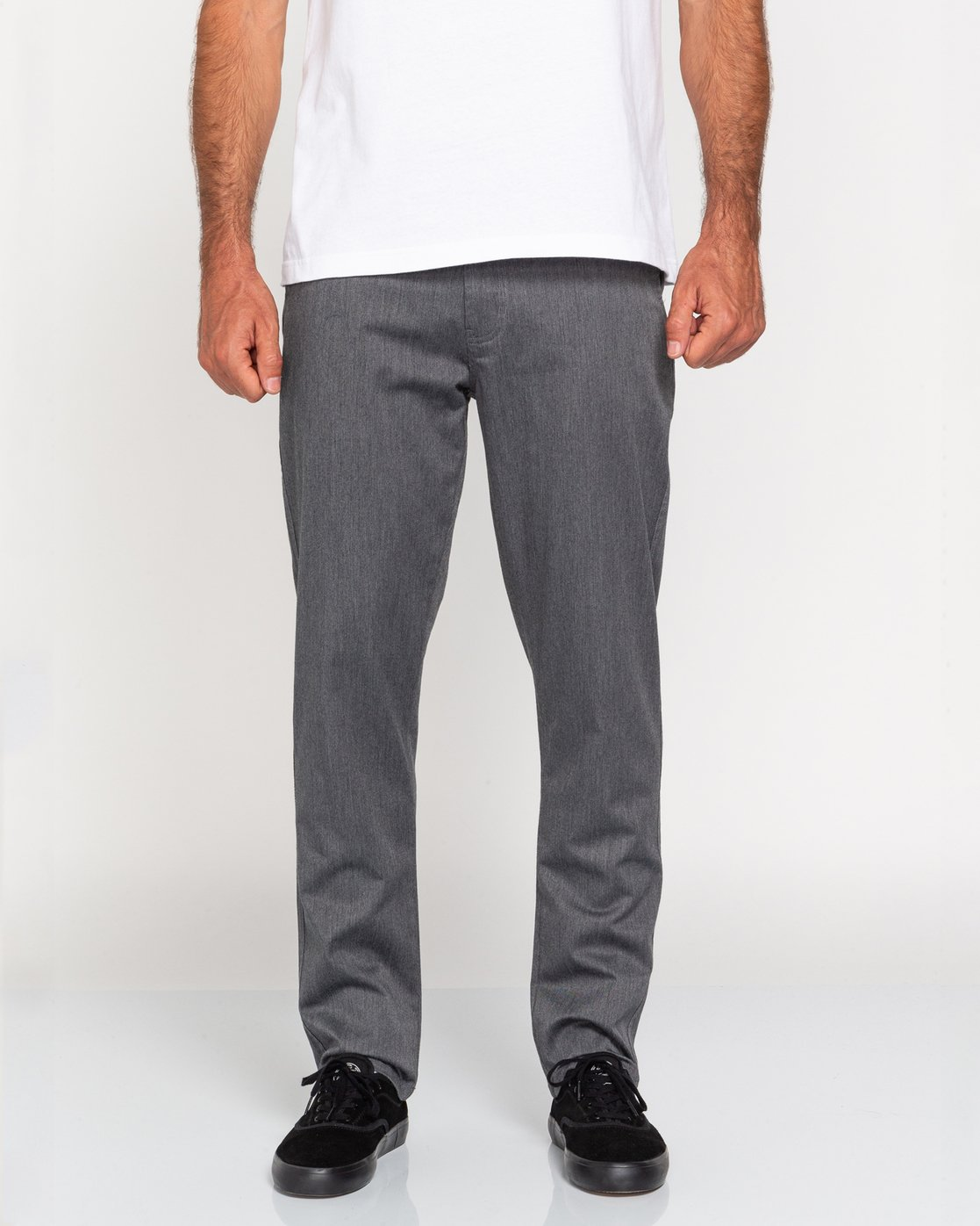 2 Howland Classic - Chinos for Men Grey U1PTC1ELF0 Element
