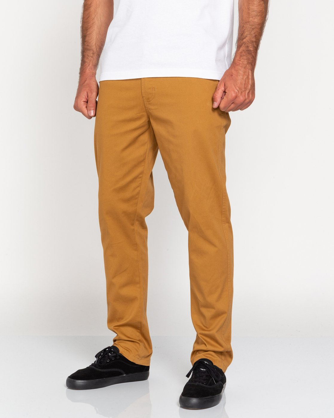 3 Howland Classic - Chinos for Men Brown U1PTC1ELF0 Element