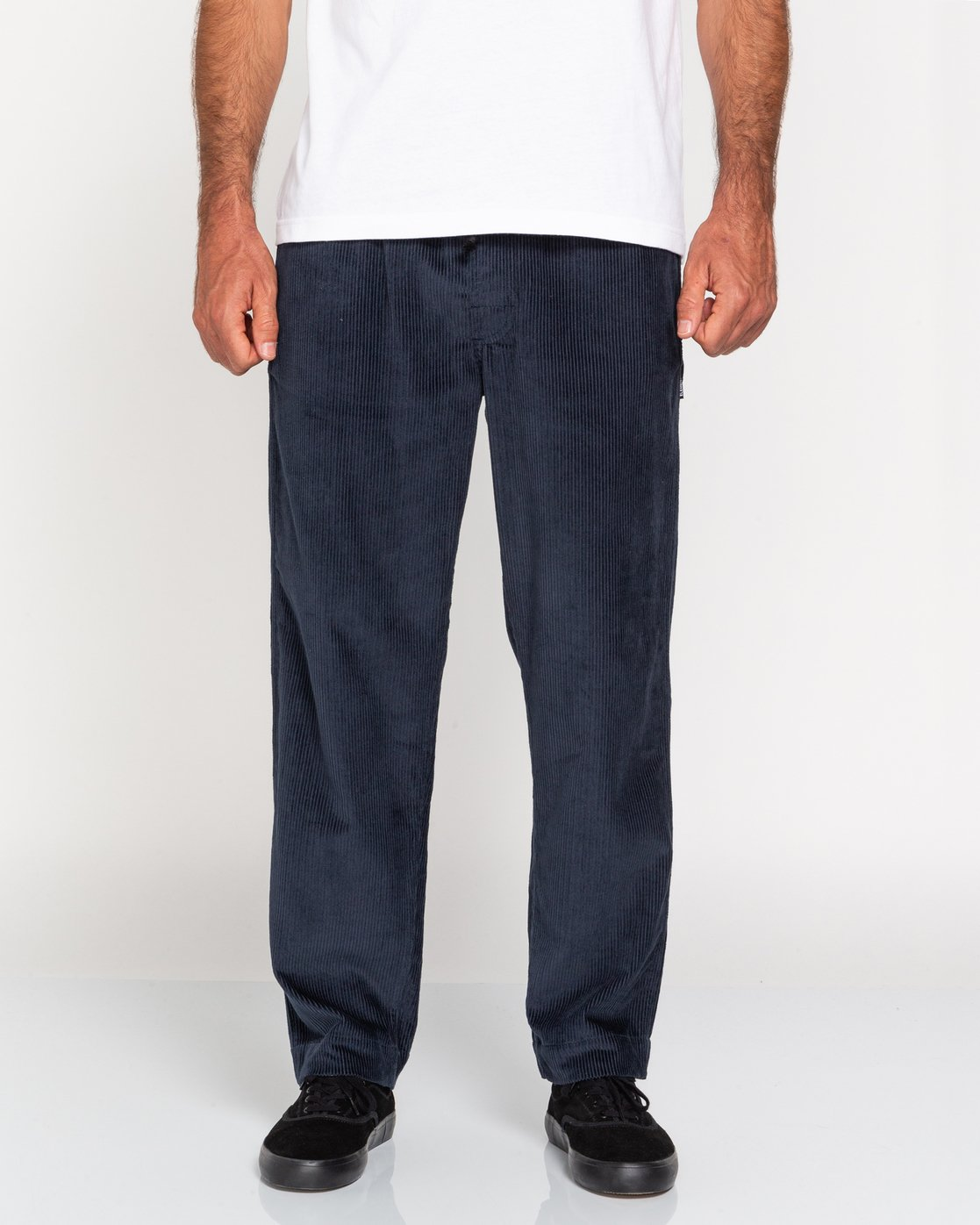 2 Chillin' - Corduroy Trousers for Men Blue U1PTC2ELF0 Element