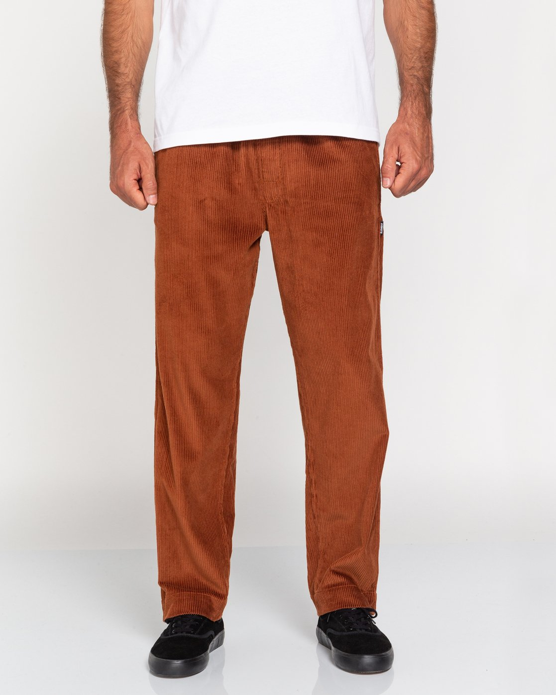 2 Chillin' - Corduroy Trousers for Men Red U1PTC2ELF0 Element