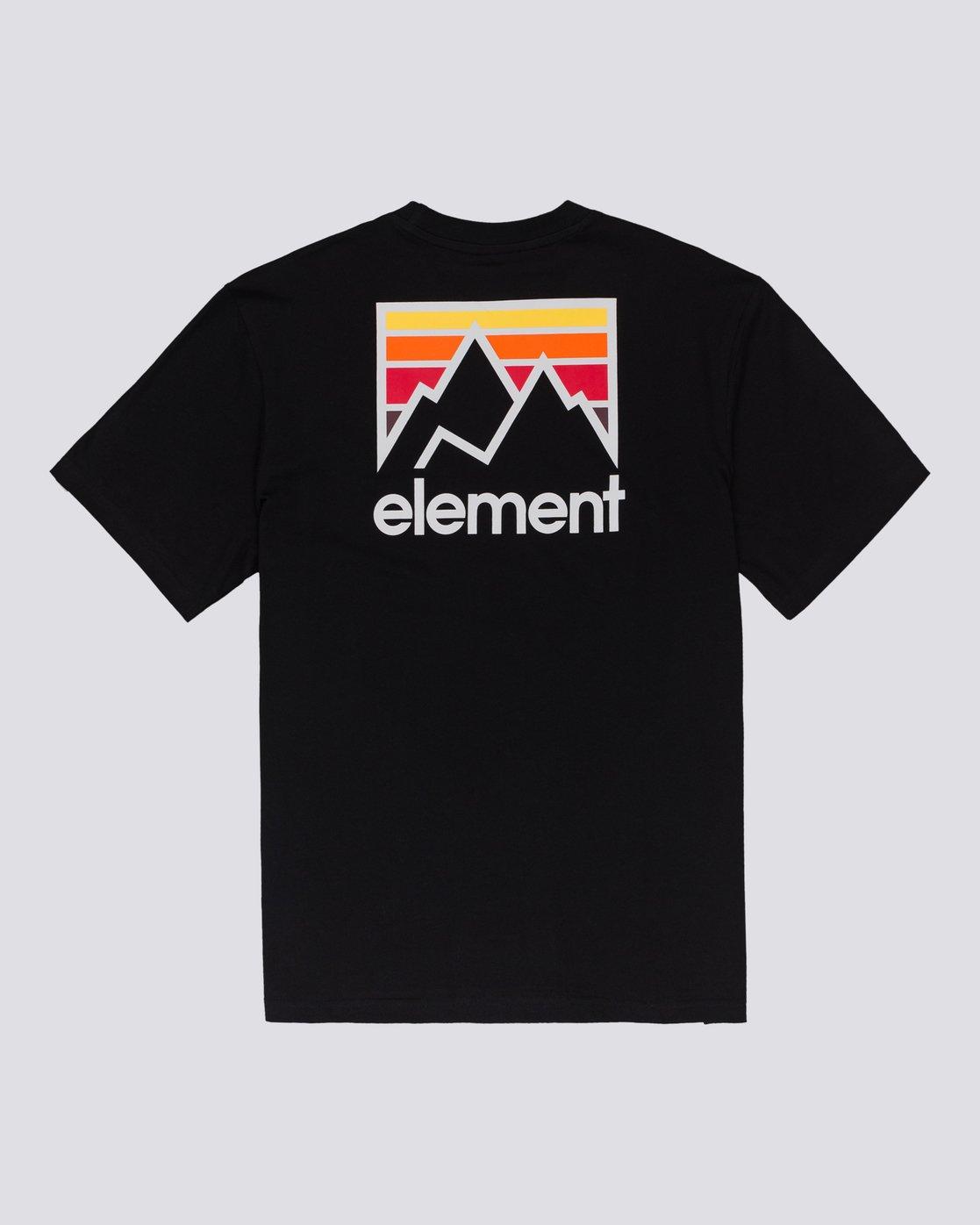 0 Joint - Maglietta Black U1SSB2ELF0 Element
