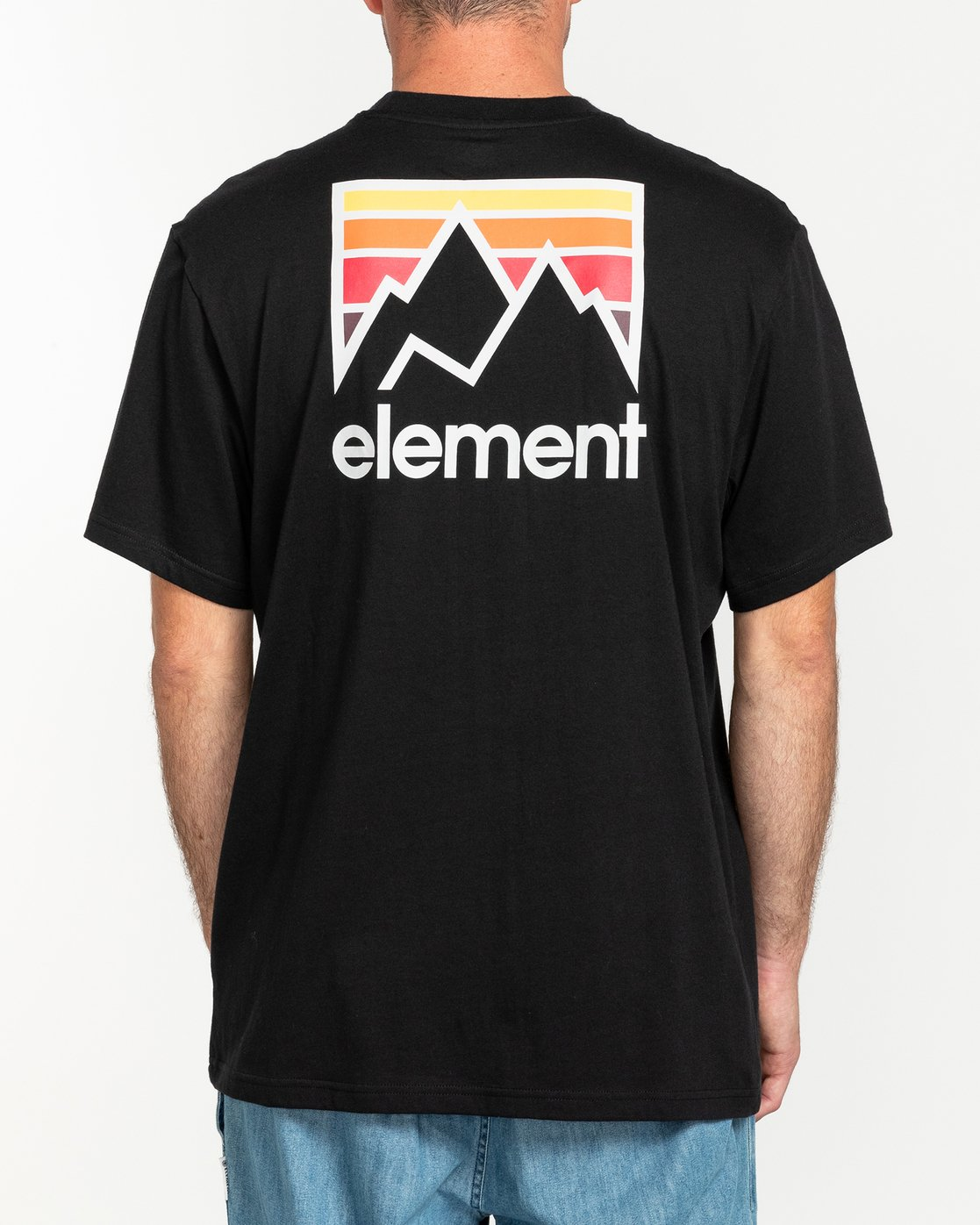 2 Joint - Maglietta Black U1SSB2ELF0 Element
