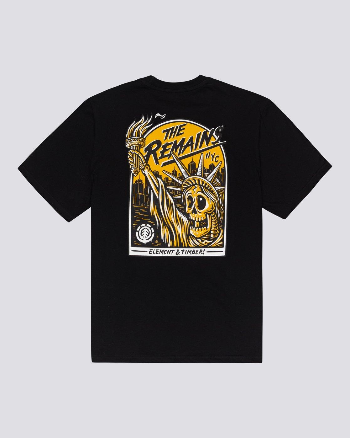 2 Timber! The Remains Liberty - T-shirt pour Homme Noir U1SSG9ELF0 Element