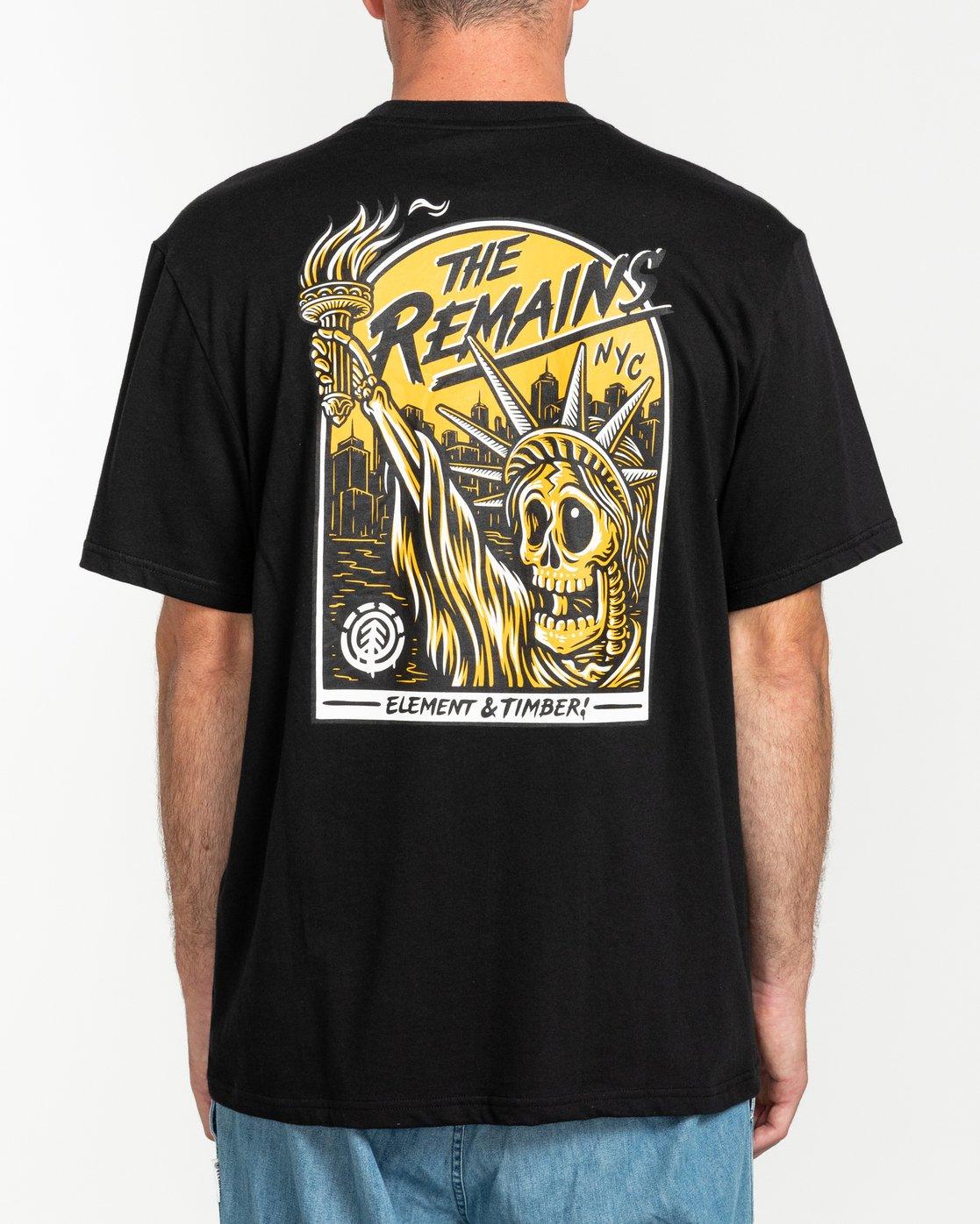 1 Timber! The Remains Liberty - T-shirt pour Homme Noir U1SSG9ELF0 Element