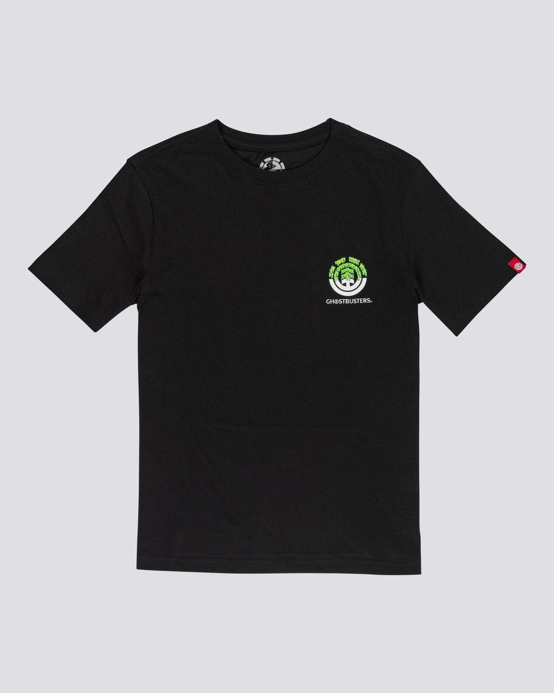1 Ghostbusters Proton Seal - T-Shirt for Men Black U1SSK7ELF0 Element