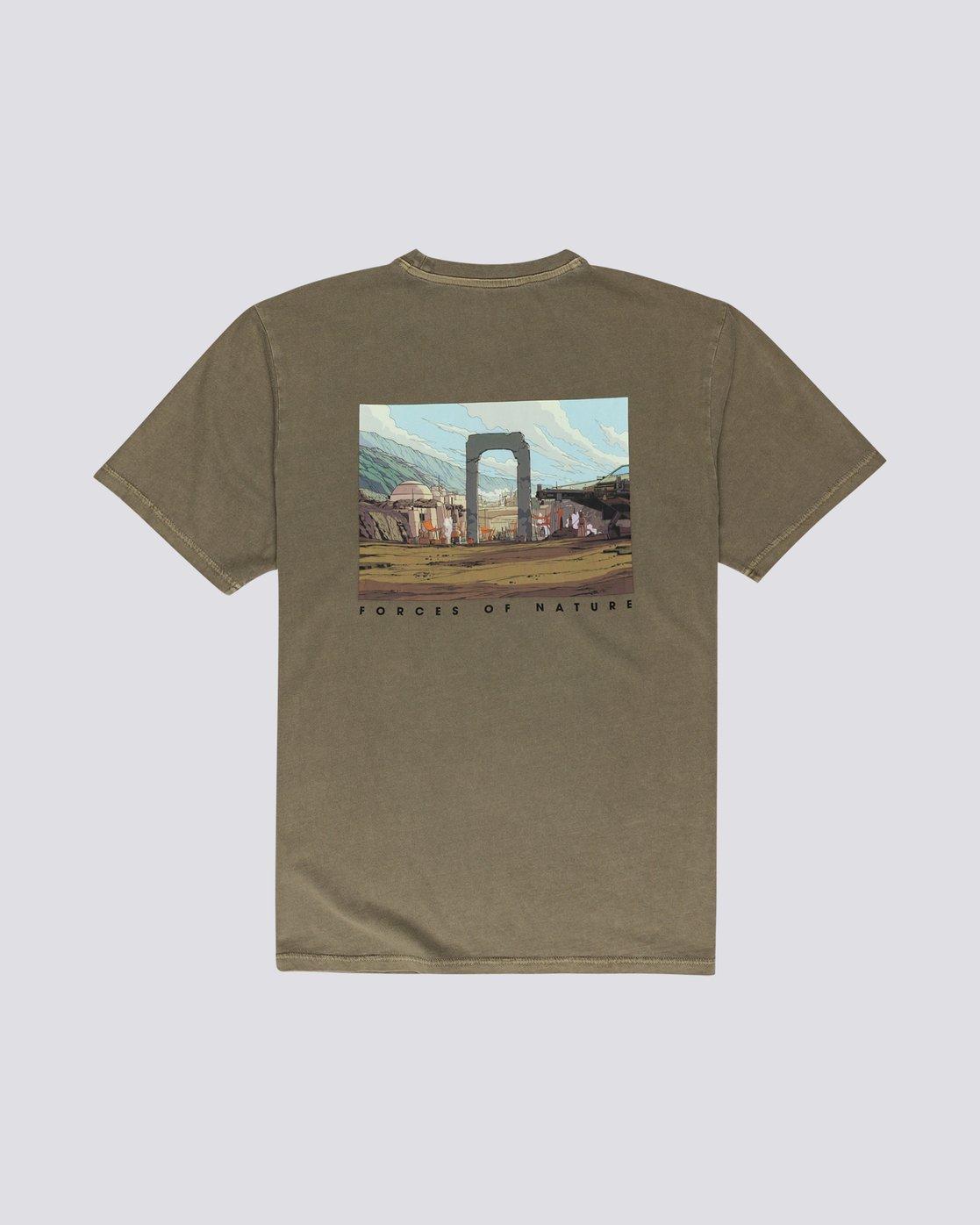 1 Star Wars X Element Nevarro - Camiseta para Hombre  U1SSN4ELF0 Element
