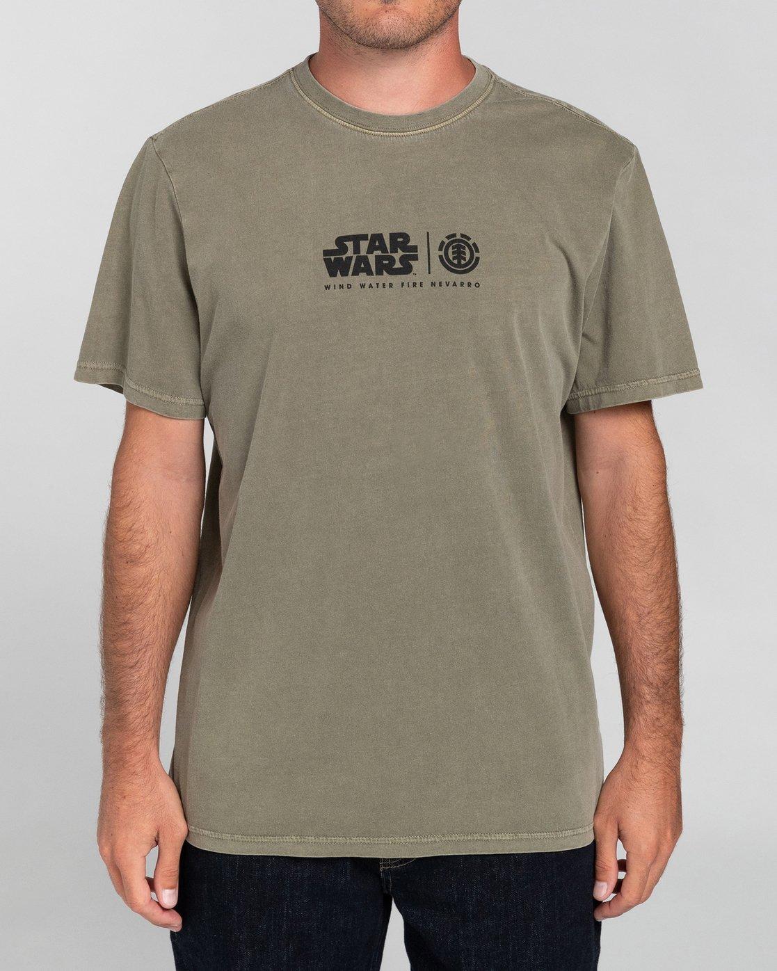 2 Star Wars X Element Nevarro - Camiseta para Hombre  U1SSN4ELF0 Element