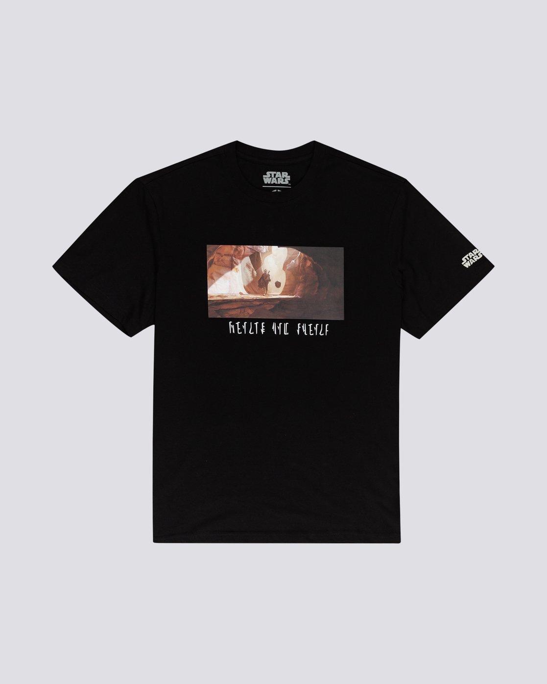 0 Star Wars X Element Quest Tee - Camiseta para Hombre Negro U1SSN9ELF0 Element