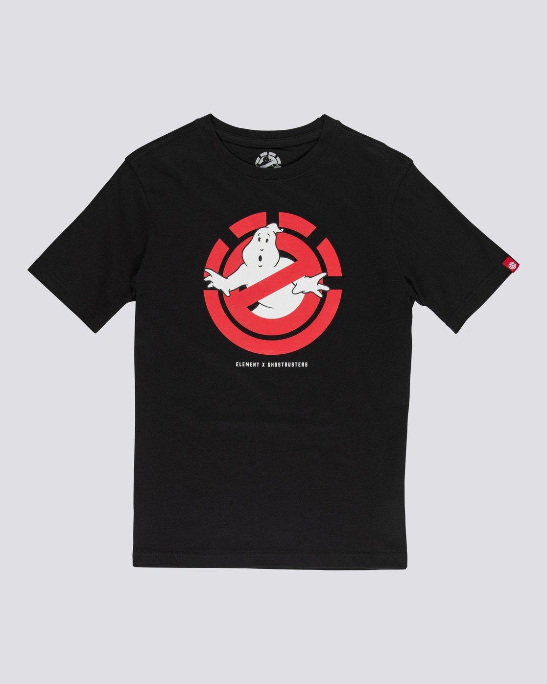 0 Ghostbusters Ghostly - T-Shirt for Boys Black U2SSD2ELF0 Element