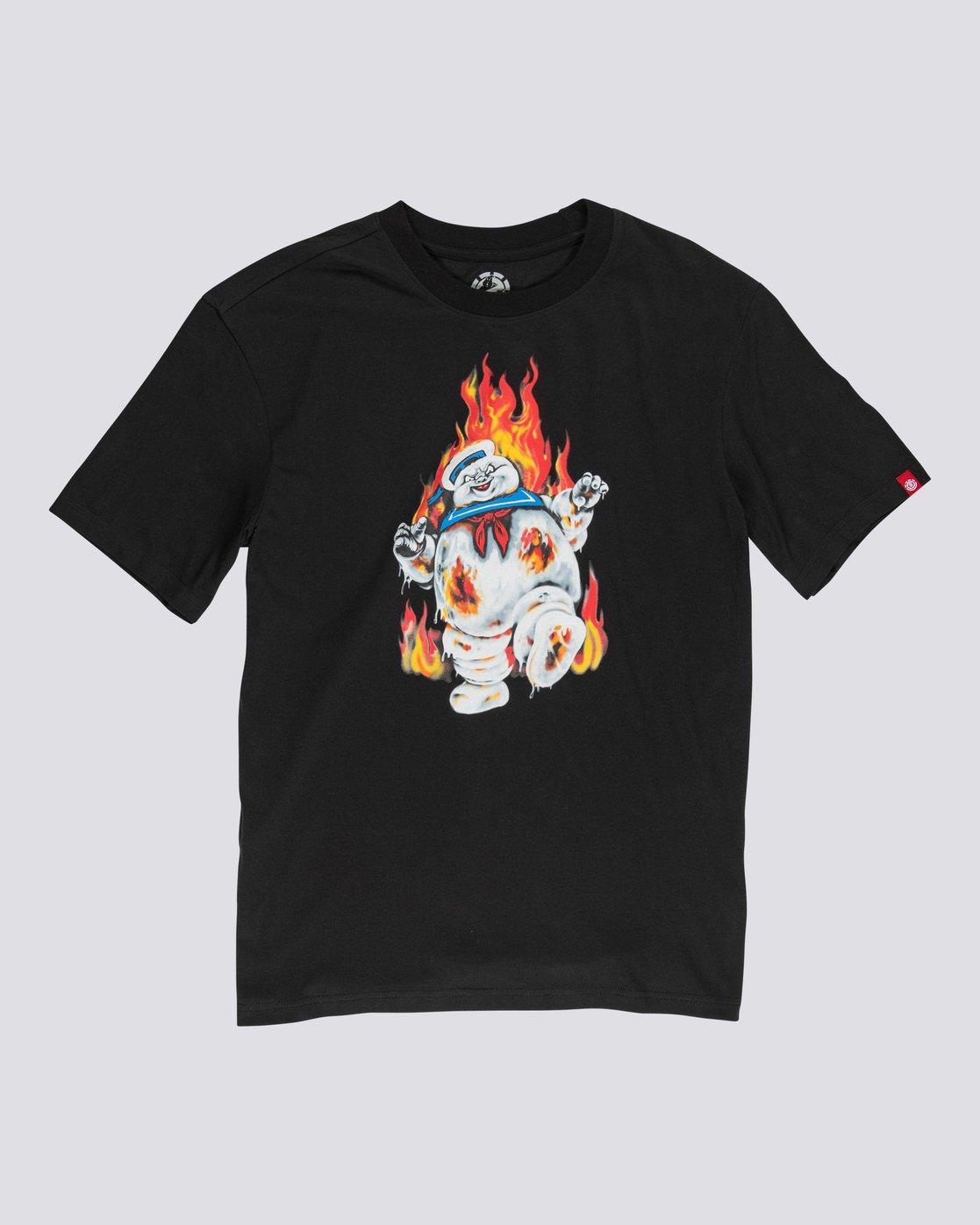 0 Ghostbusters Inferno - T-Shirt for Boys Black U2SSD5ELF0 Element