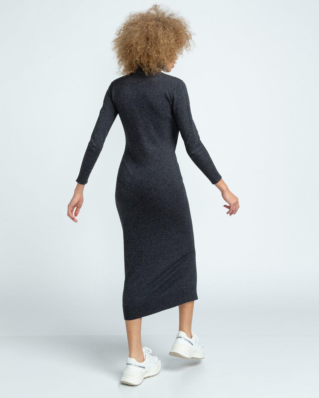 4 Jenni - Dress for Women Grey U3DRA5ELF0 Element
