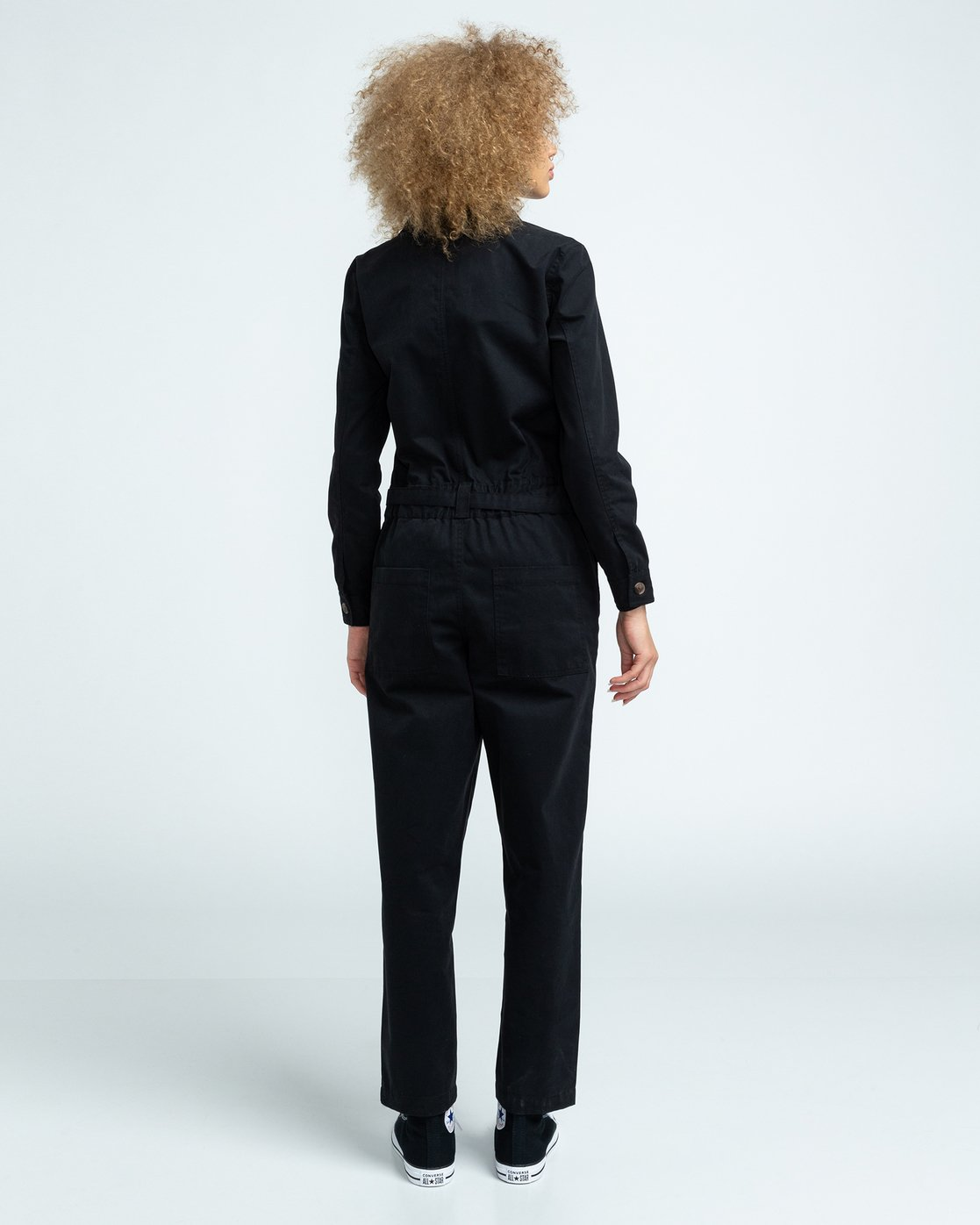 4 Utility - Boilersuit for Women Black U3PTA4ELF0 Element