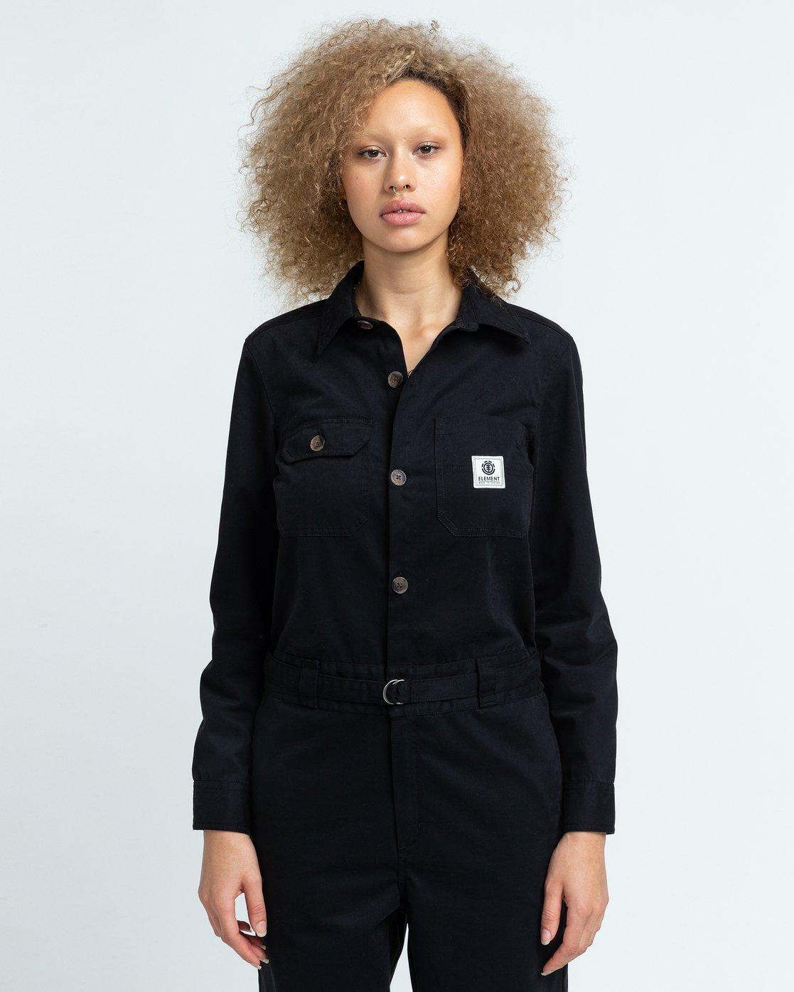 2 Utility - Boilersuit for Women Black U3PTA4ELF0 Element