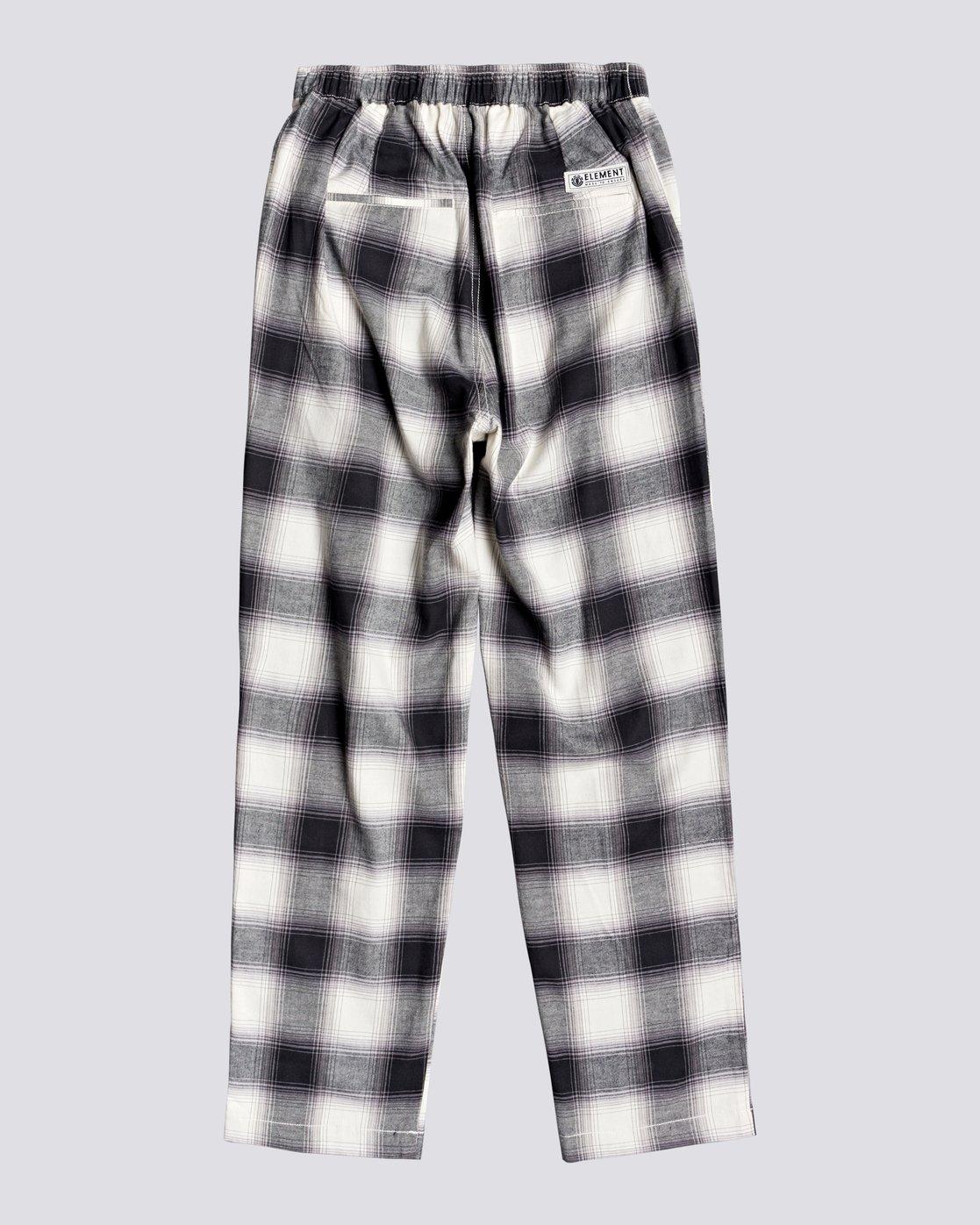 1 Trigga - High Waist Trousers for Women Black U3PTA5ELF0 Element
