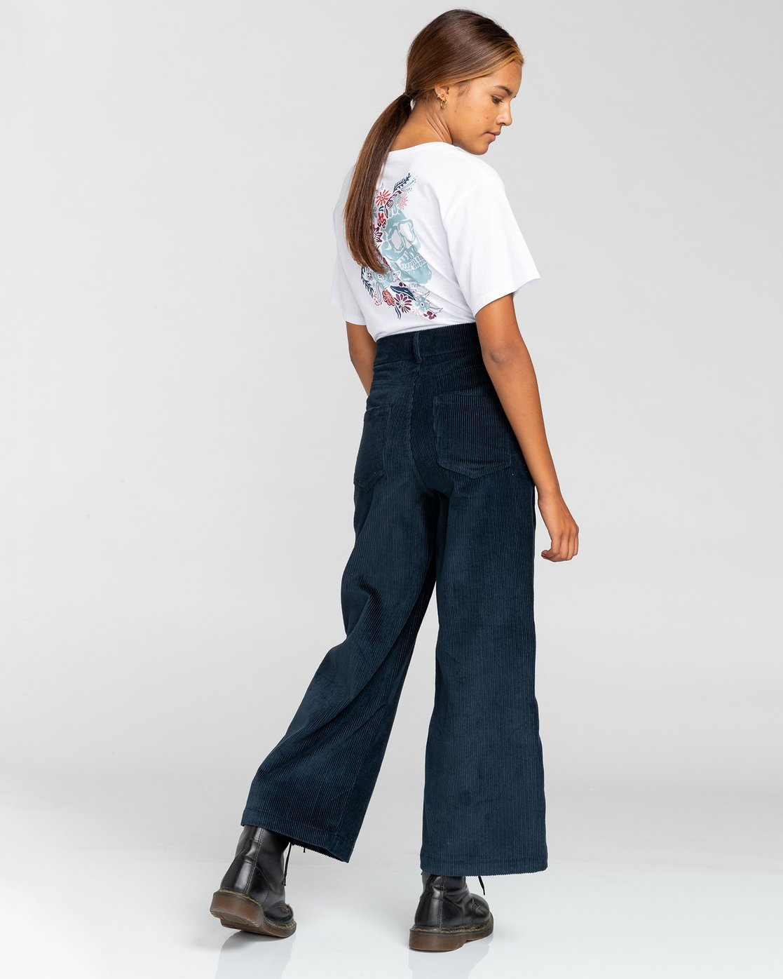4 Gresham - High Waist Trousers for Women Blue U3PTA6ELF0 Element