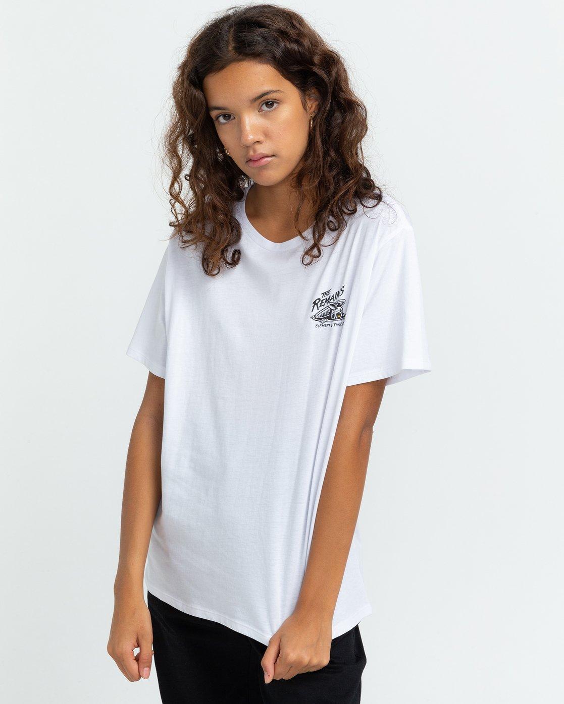 2 Timber! The Remains B-Side - T-shirt pour Femme Blanc U3SSA1ELF0 Element