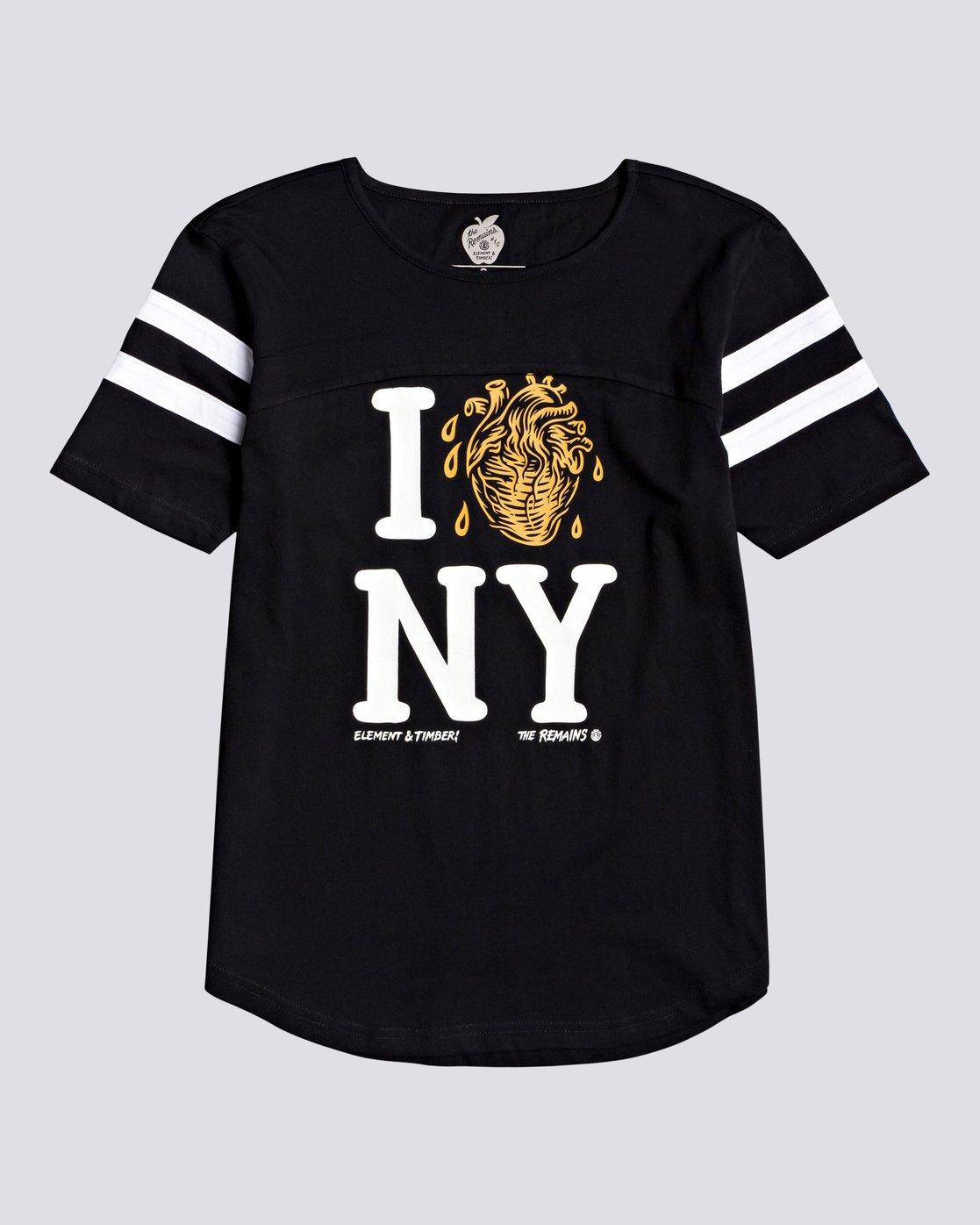 0 Timber! The Remains I Heart Football - T-shirt pour Femme Noir U3SSA2ELF0 Element
