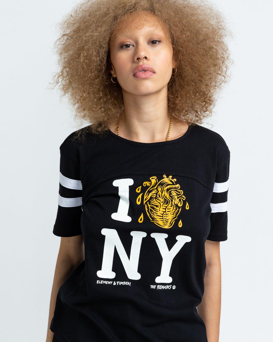 1 Timber! The Remains I Heart Football - T-shirt pour Femme Noir U3SSA2ELF0 Element