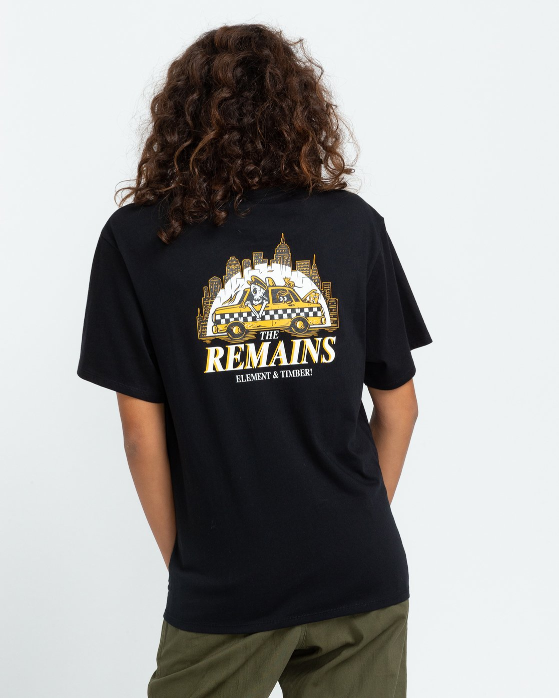 4 Timber! The Remains Taxi - T-shirt pour Femme Noir U3SSA9ELF0 Element