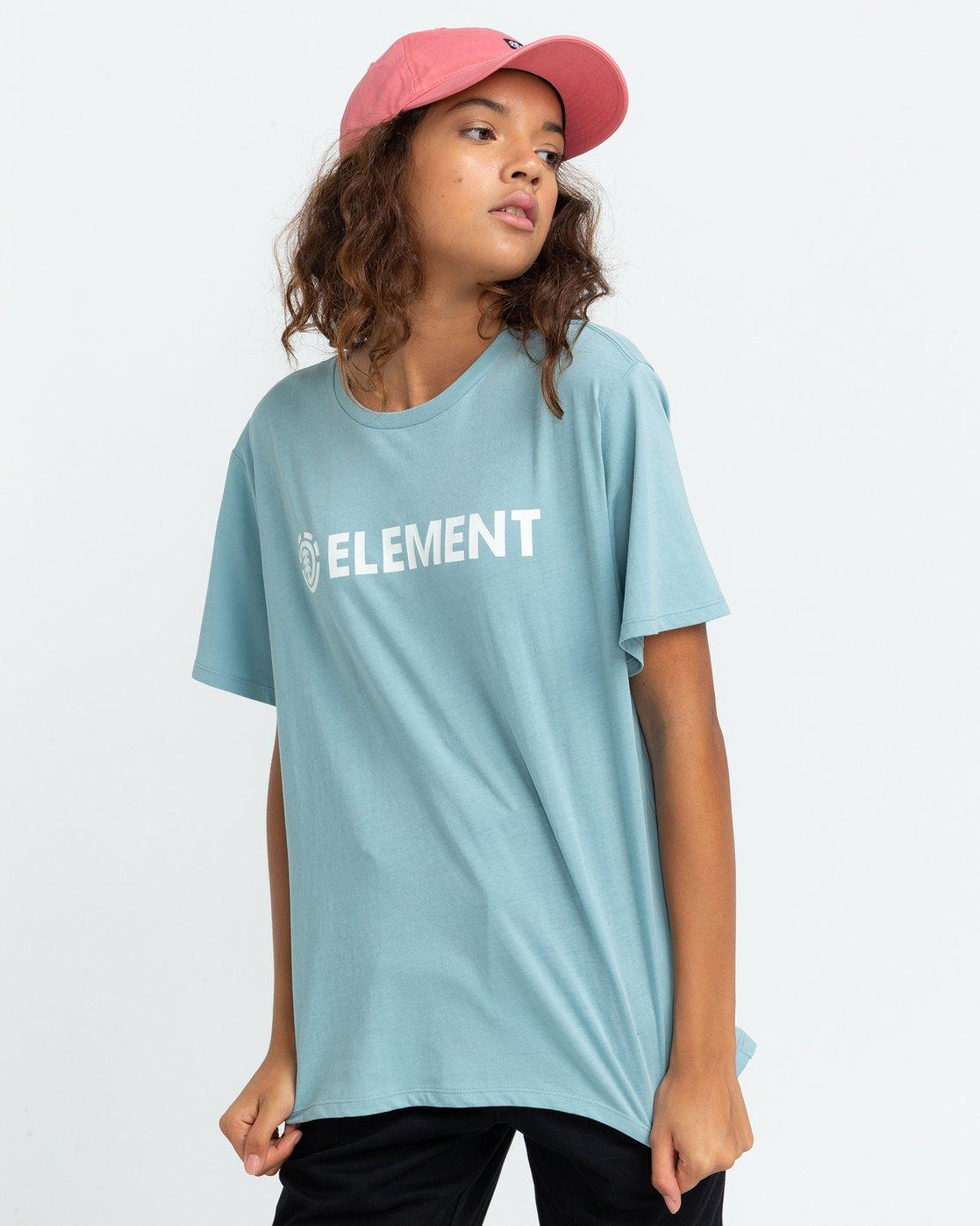 1 Element Logo - T-shirt pour Femme  U3SSB1ELF0 Element