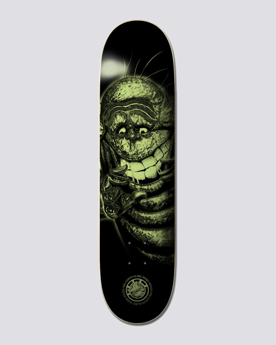 "1 Ghostbusters 8.5"" Slimer - Skateboard Deck  U4DCA9ELF0 Element"