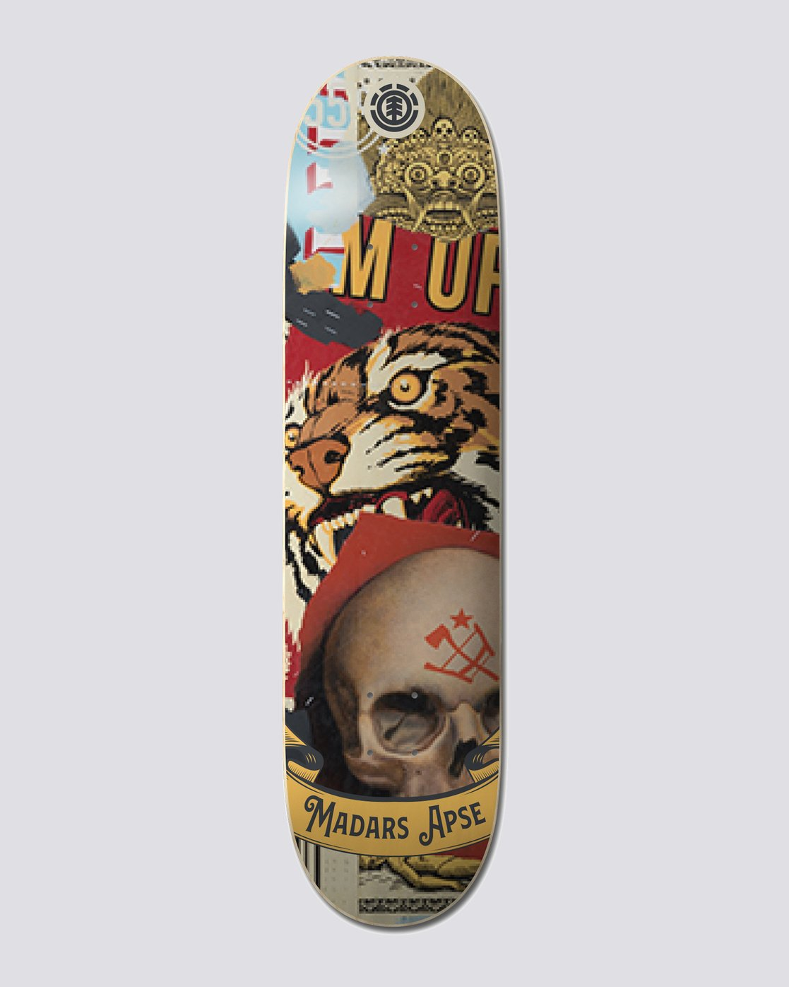 "0 8.25"" Low Earth Orbit Madars - Skateboard Deck  U4DCD1ELF0 Element"
