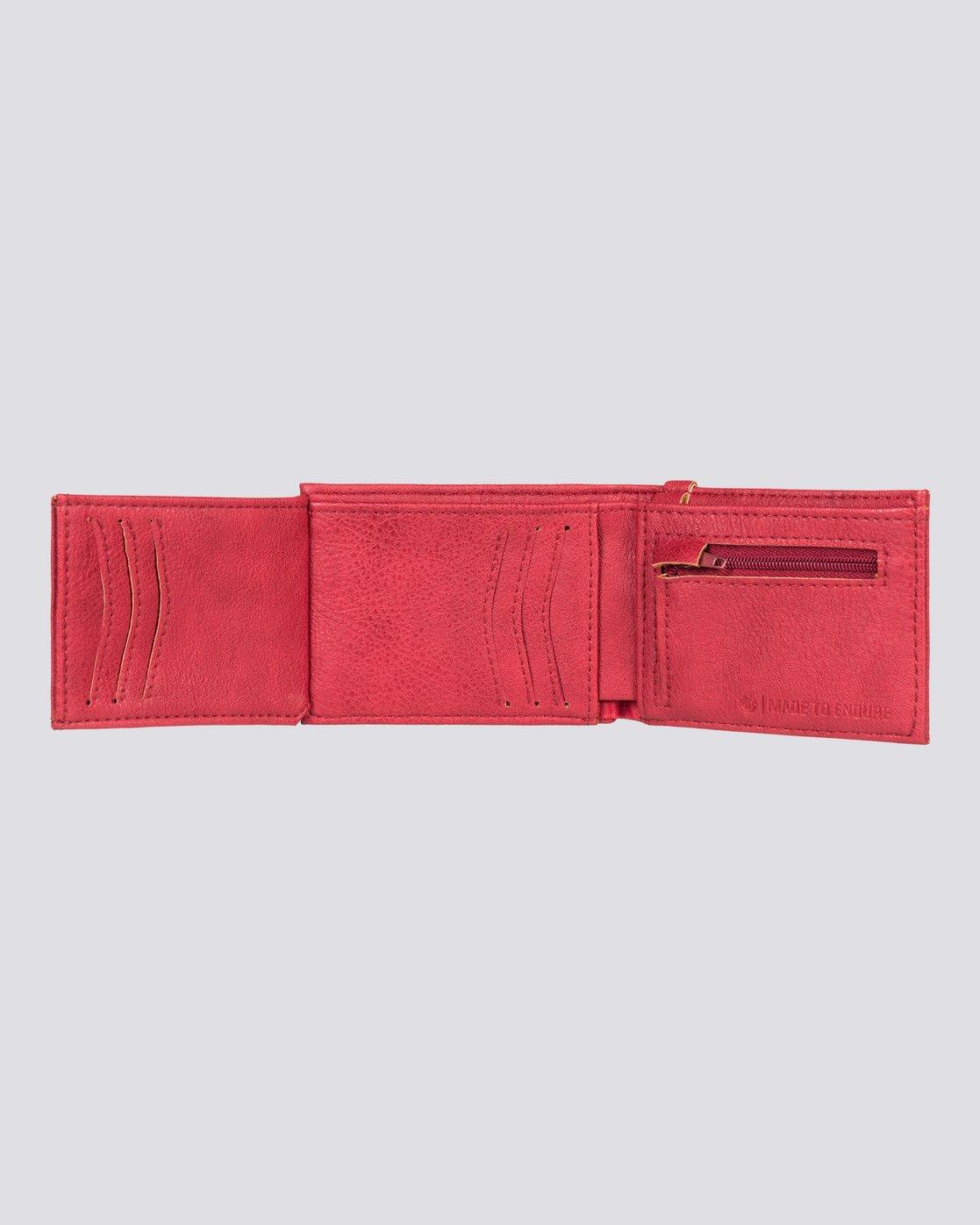 2 Segur - Portafoglio da Uomo Red U5WLB1ELPP Element